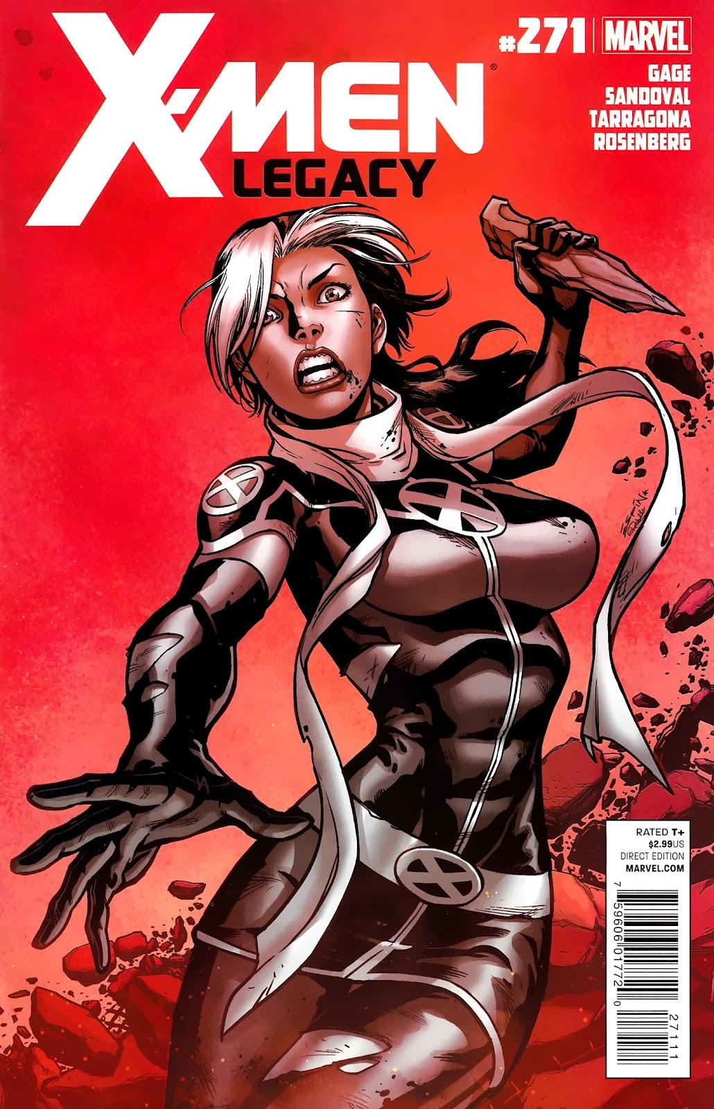 X-Men Legacy (2008) 271 Page 1