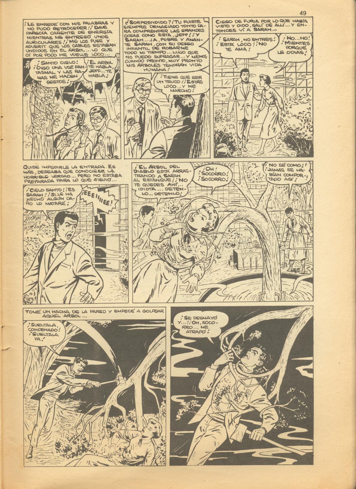 Read online Adventures into Weird Worlds comic -  Issue #1 - 17