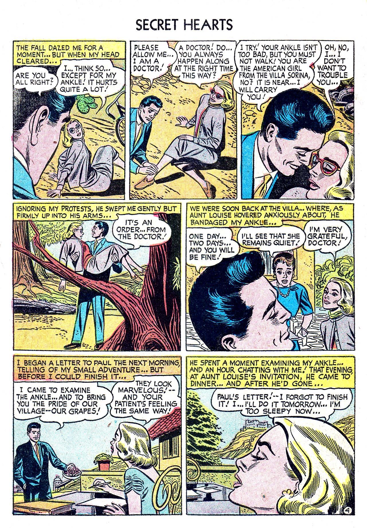 Read online Secret Hearts comic -  Issue #32 - 6
