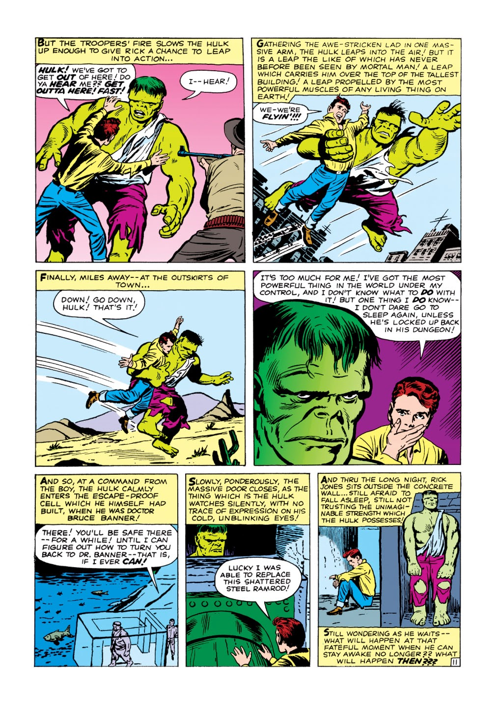 Read online Marvel Masterworks: The Incredible Hulk comic -  Issue # TPB 1 (Part 1) - 64