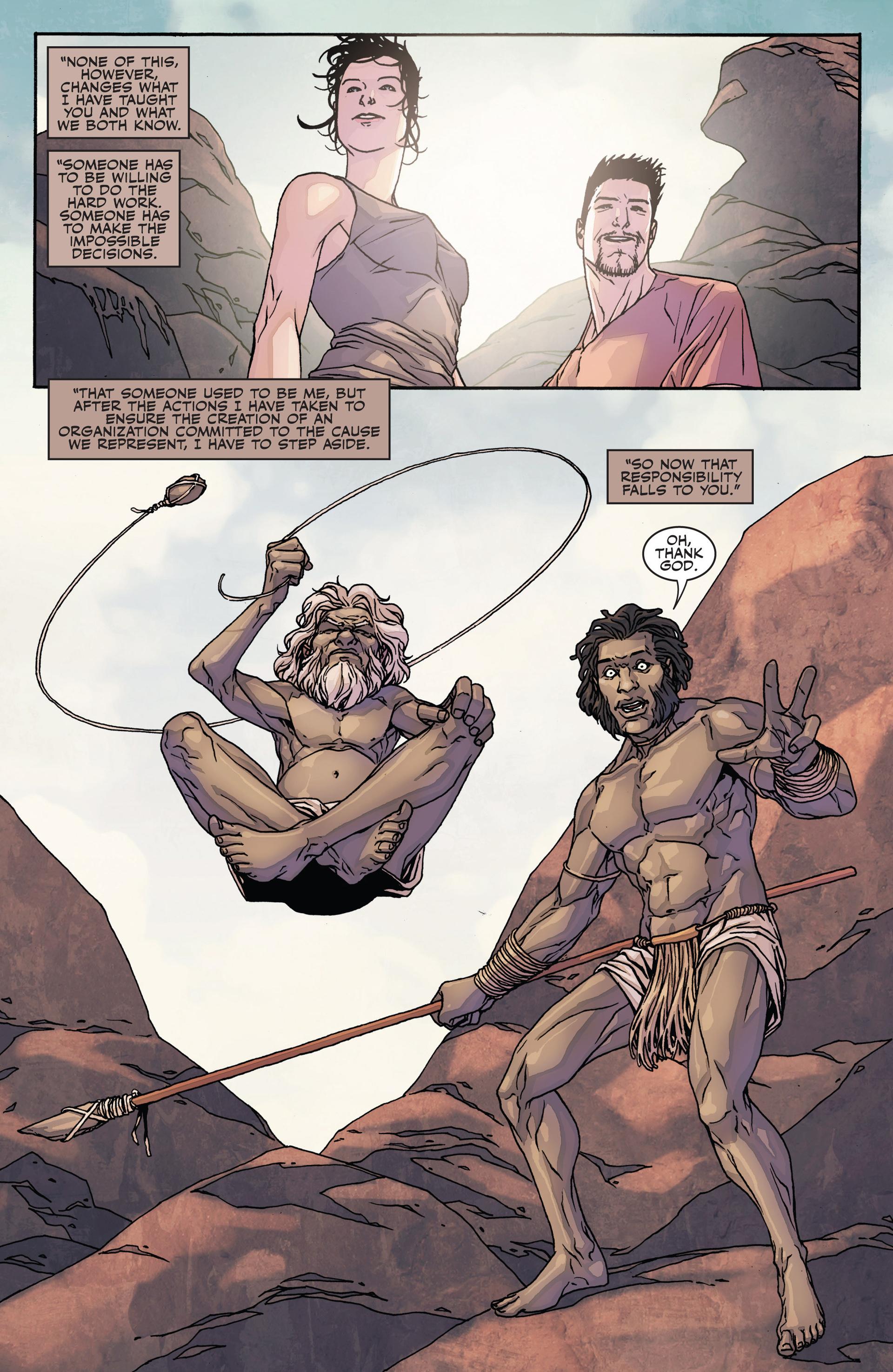 Read online Secret Warriors comic -  Issue #28 - 14