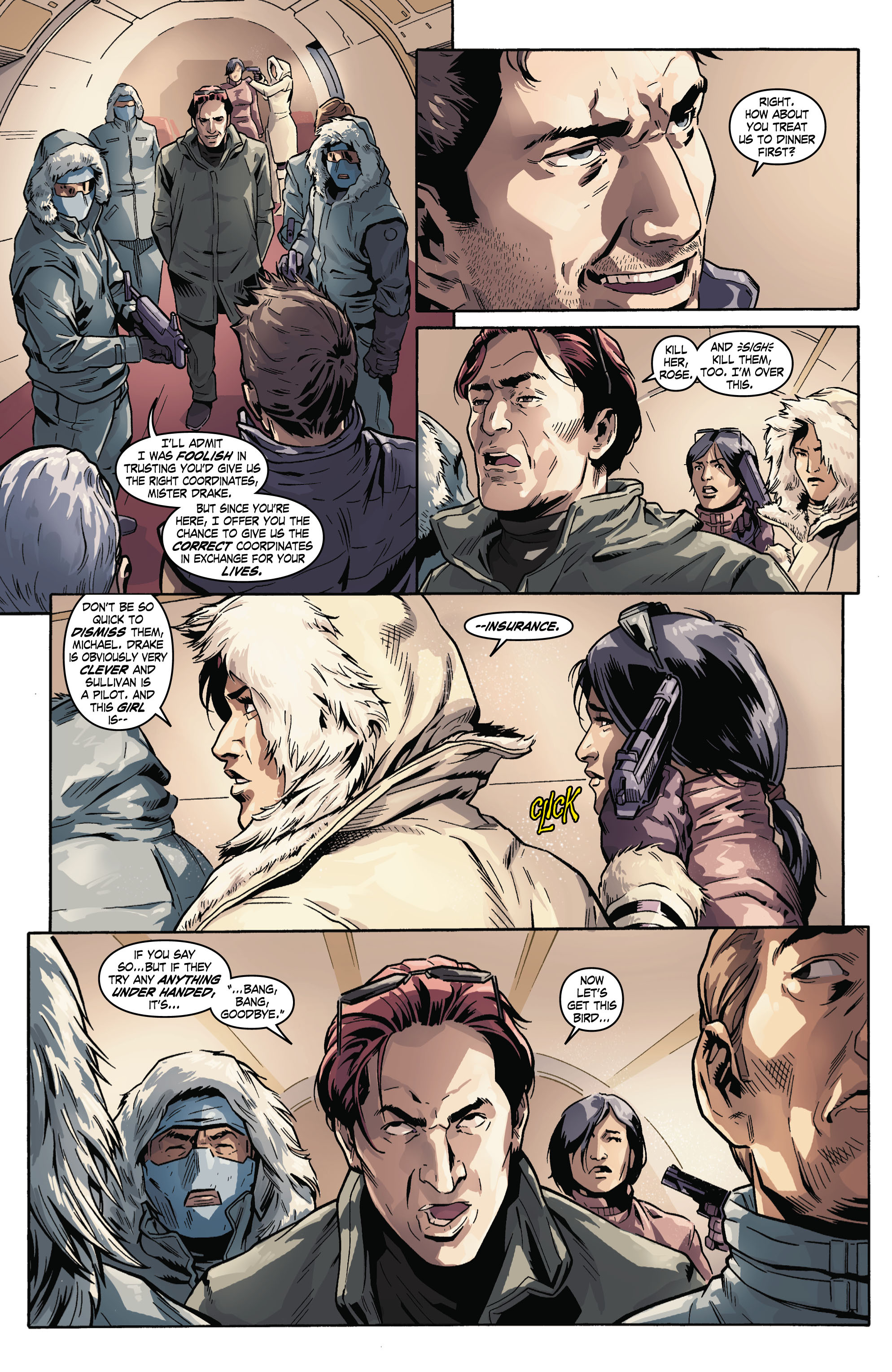 Read online Uncharted comic -  Issue #3 - 15