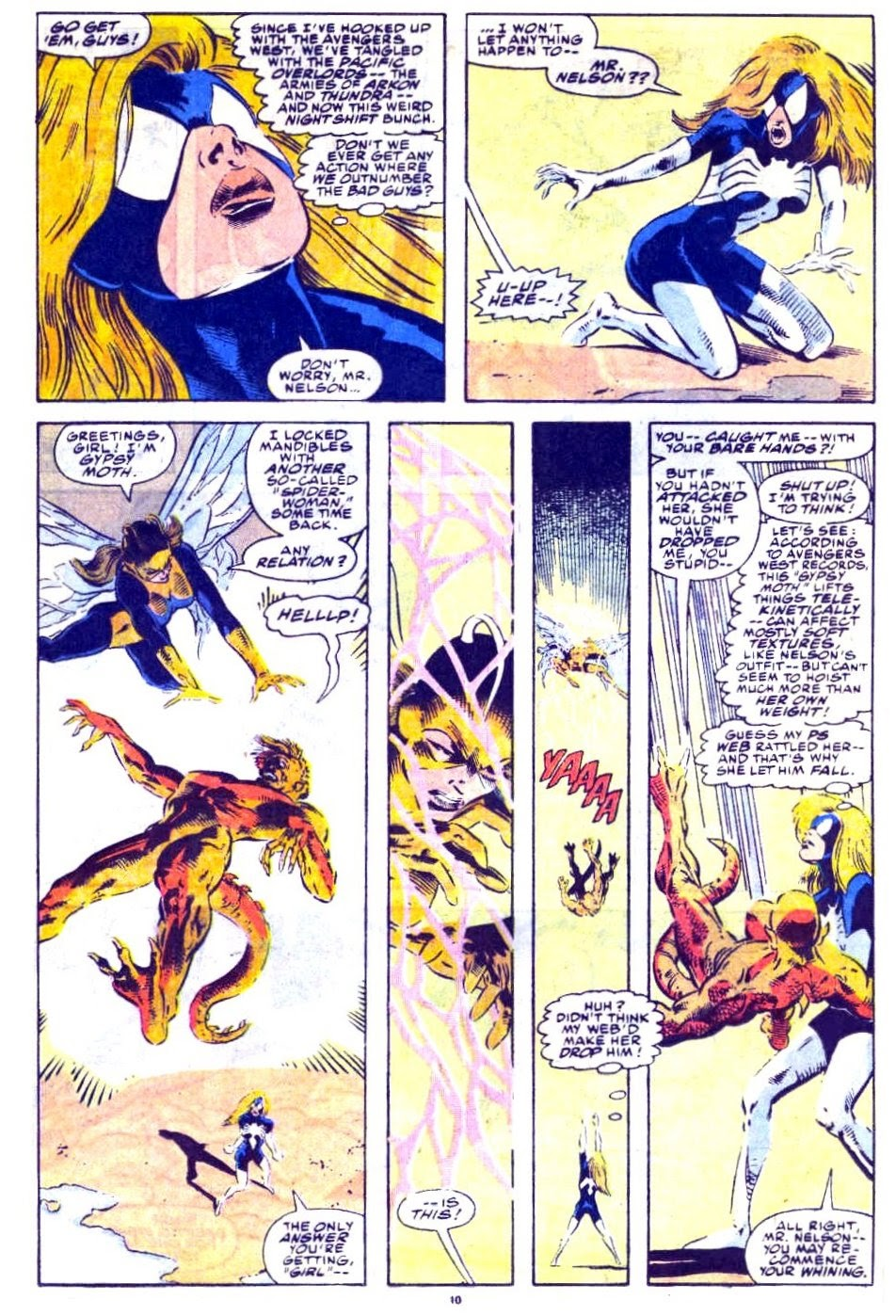 Avengers West Coast (1989) issue 76 - Page 9