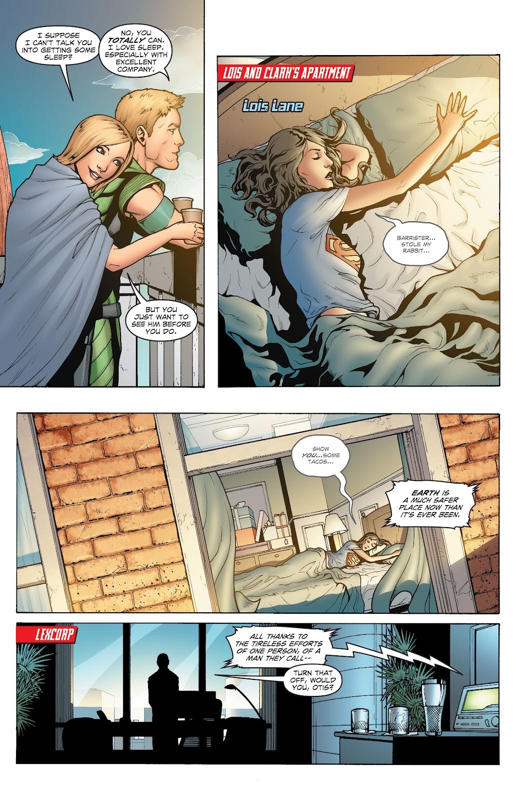Read online Smallville Season 11 [II] comic -  Issue # TPB 1 - 8