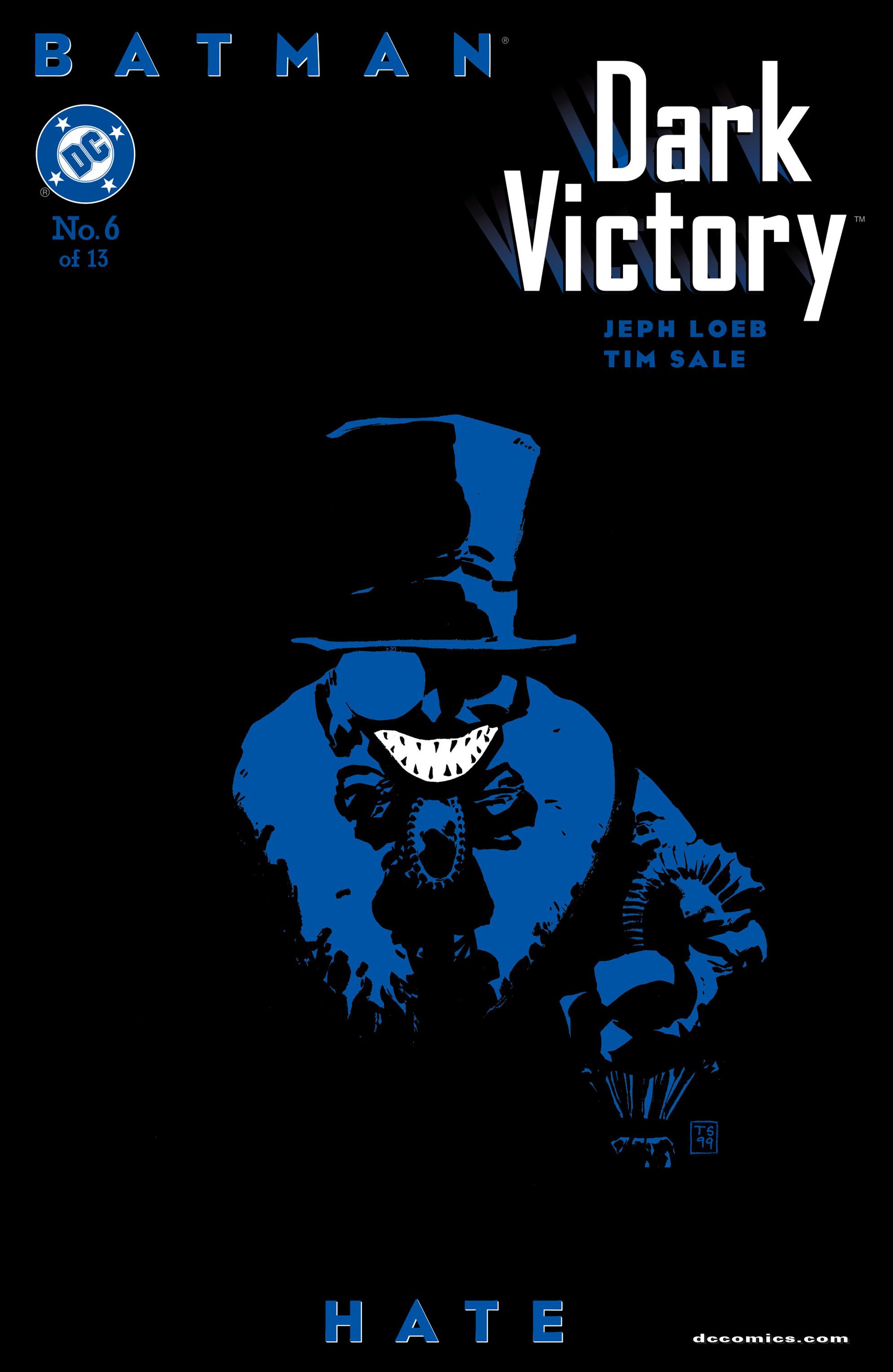 Batman: Dark Victory (1999) 6 Page 1