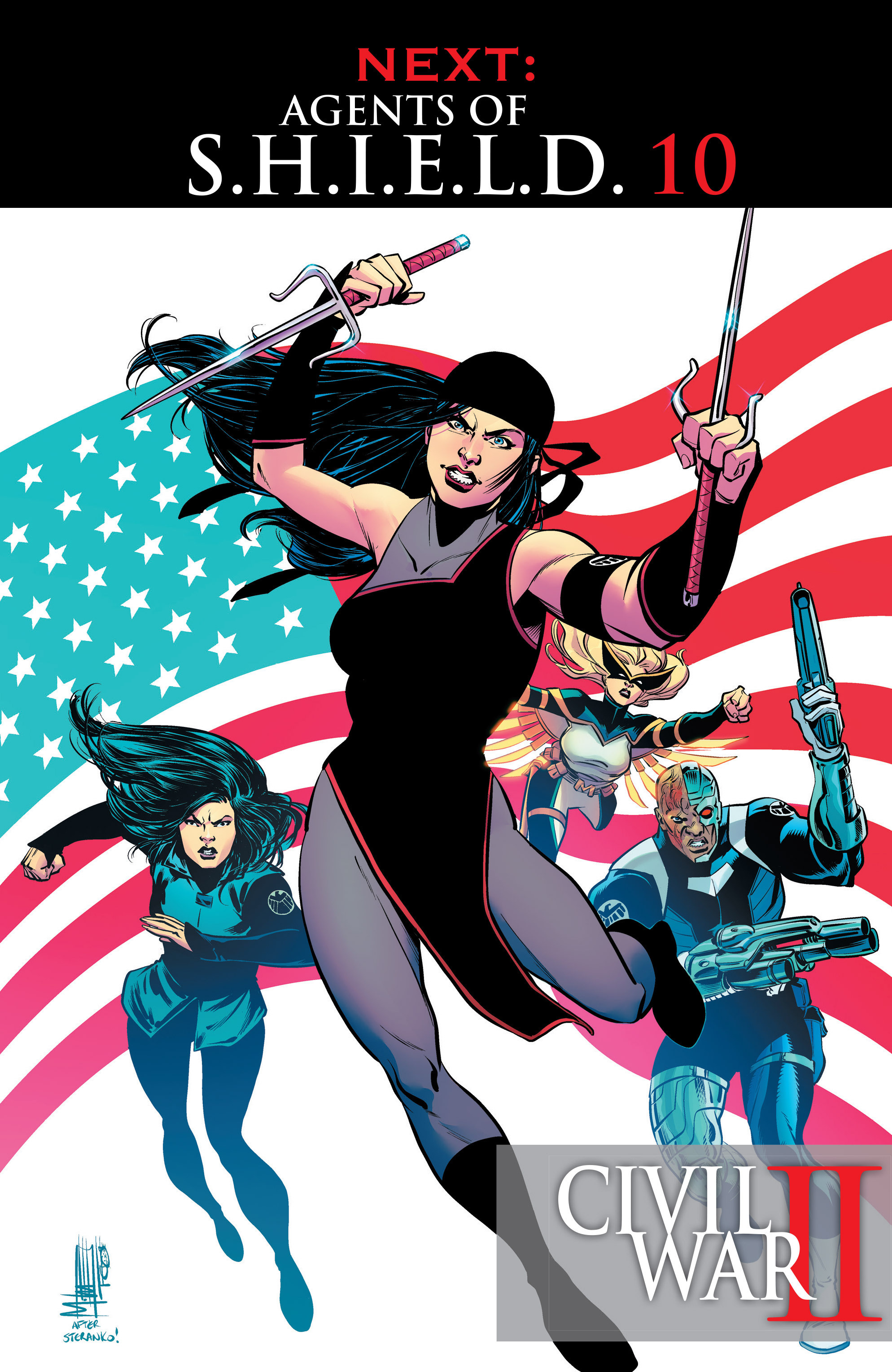 Read online Agents of S.H.I.E.L.D. comic -  Issue #9 - 23