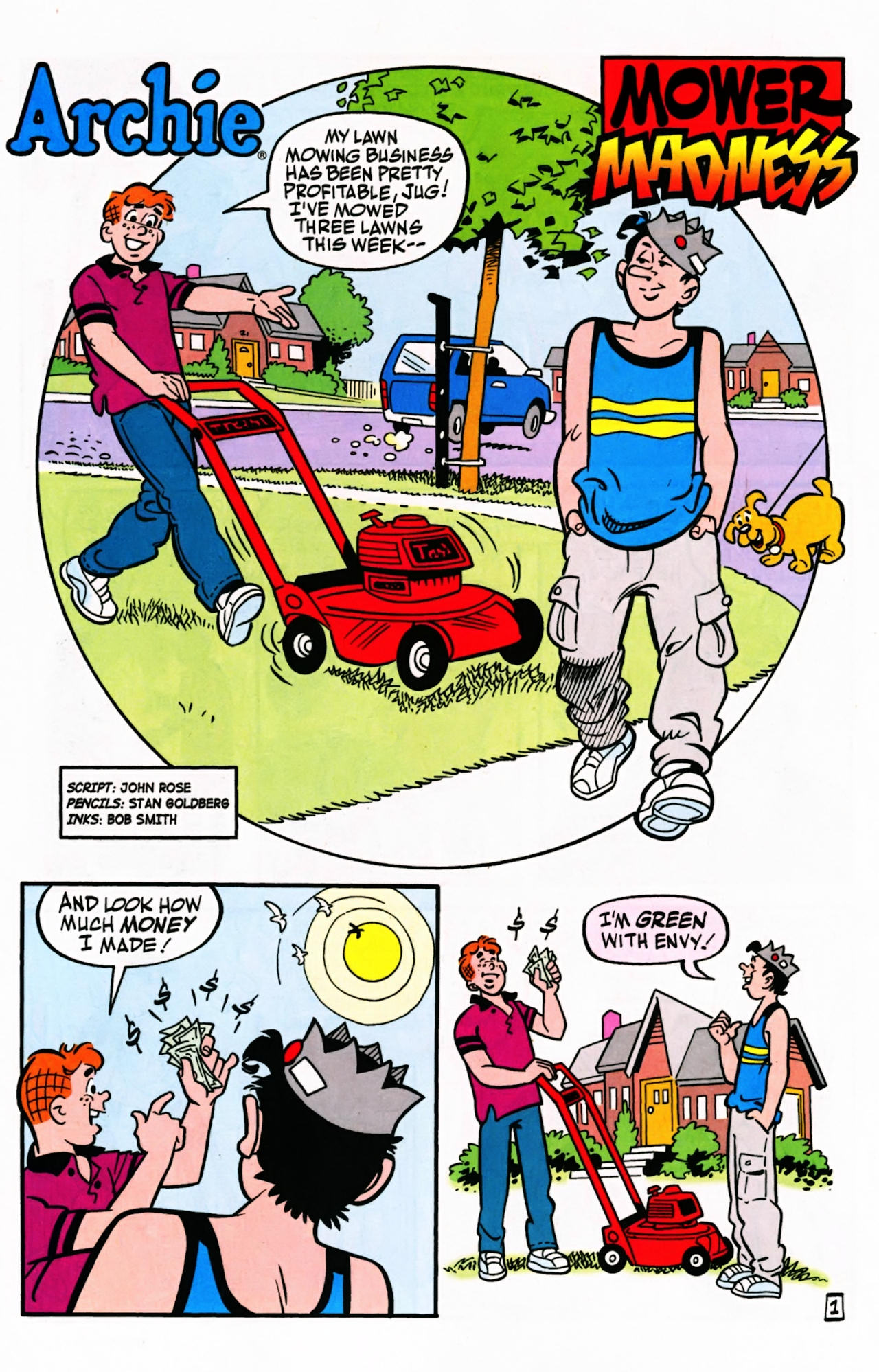 Read online Archie (1960) comic -  Issue #599 - 25