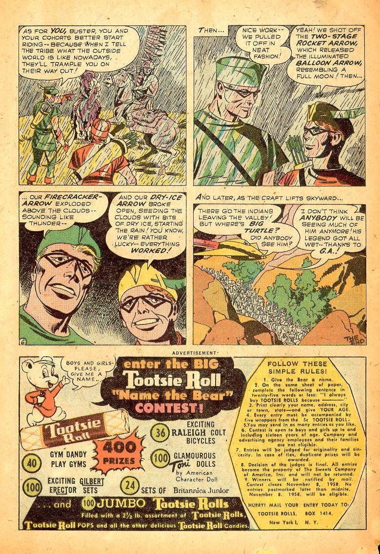 Read online Adventure Comics (1938) comic -  Issue #254 - 32