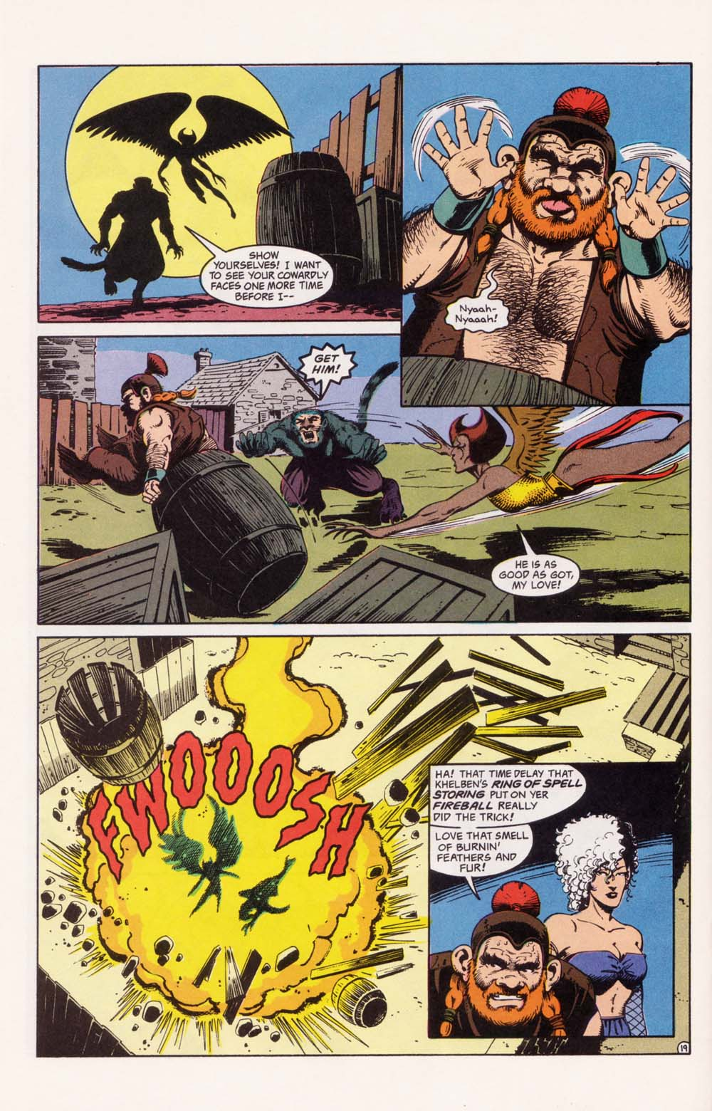Read online Advanced Dungeons & Dragons comic -  Issue #33 - 19