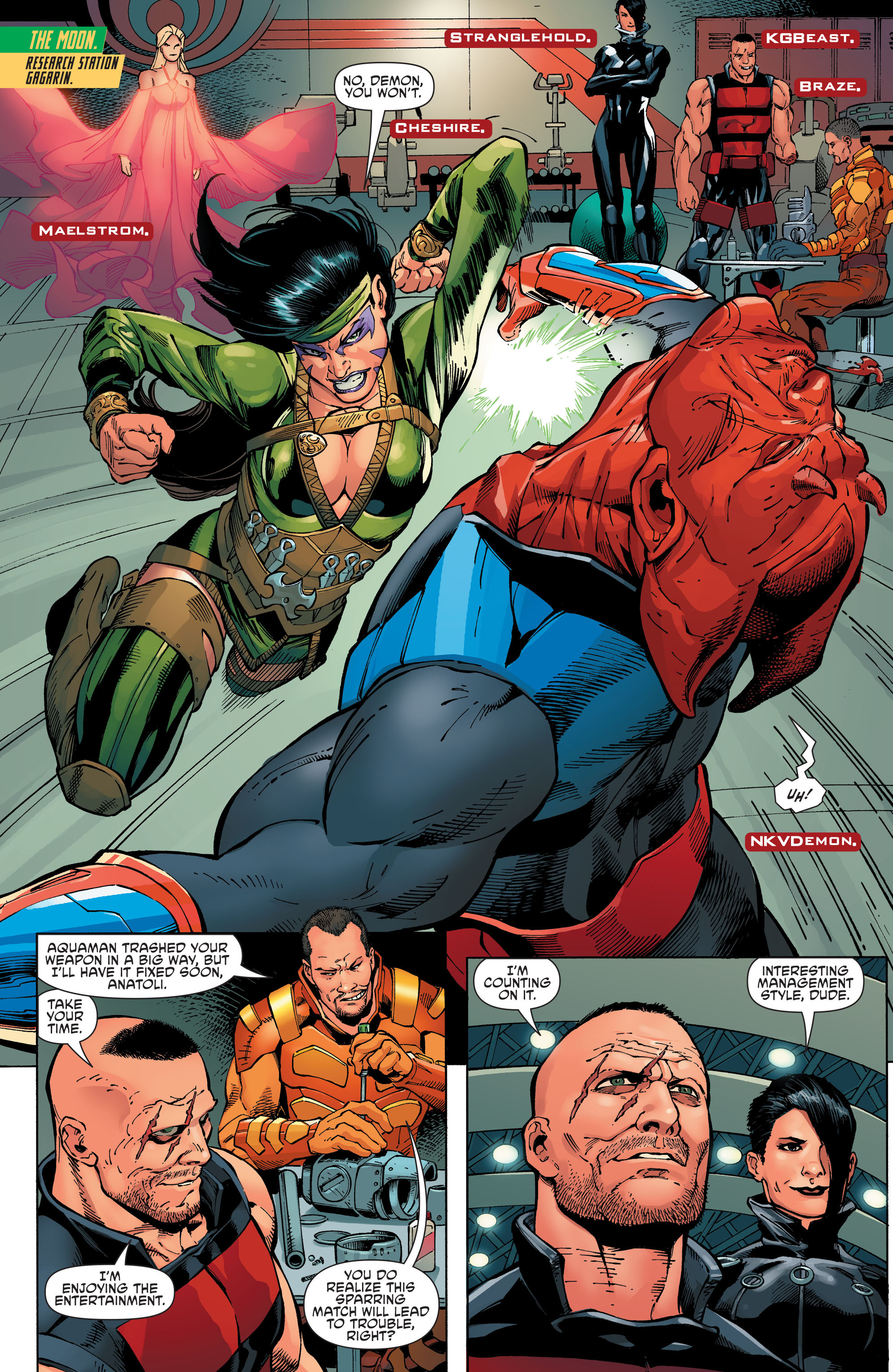 Read online Aquaman and the Others comic -  Issue #8 - 6