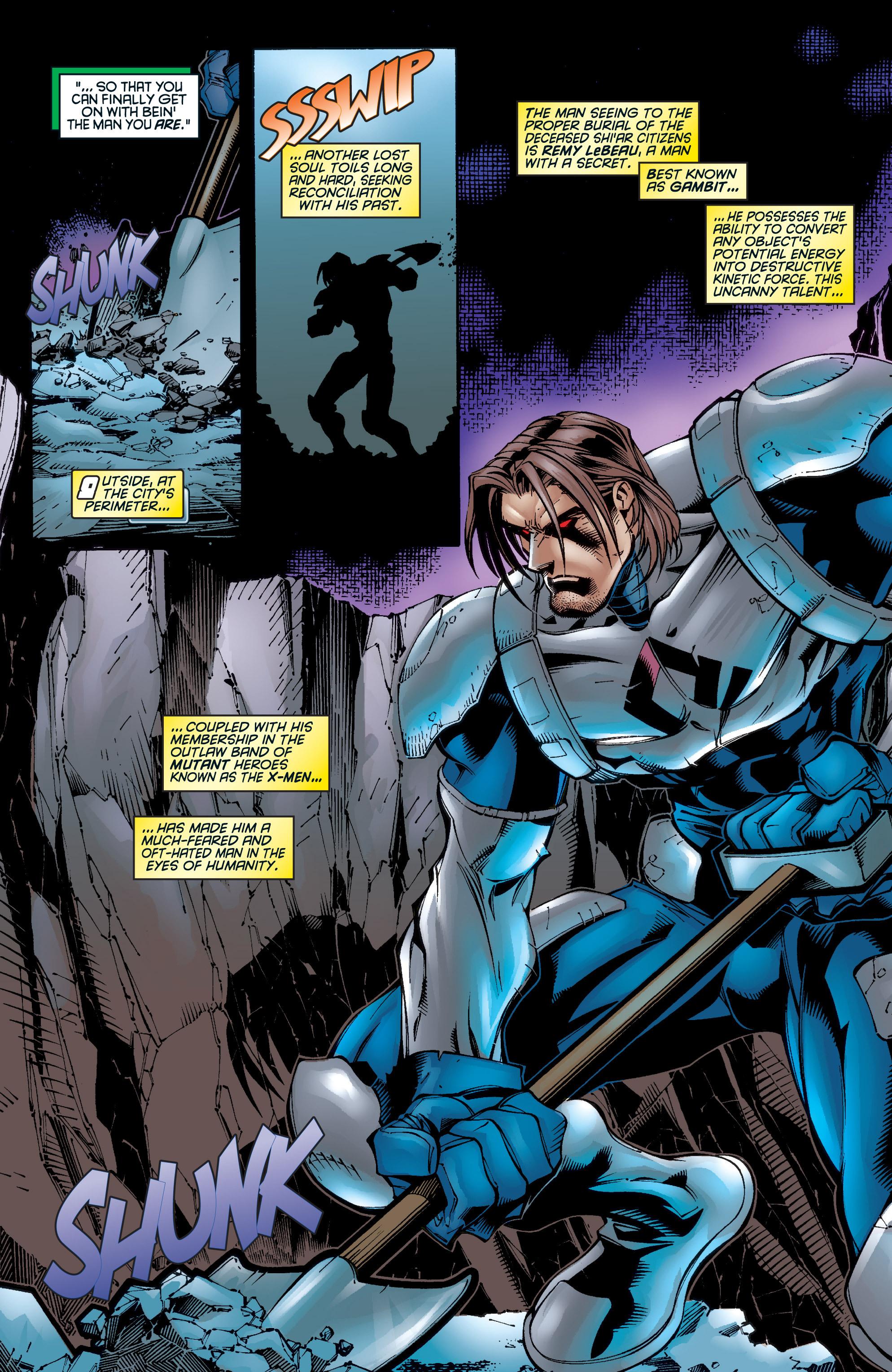 Read online Uncanny X-Men (1963) comic -  Issue #345 - 12
