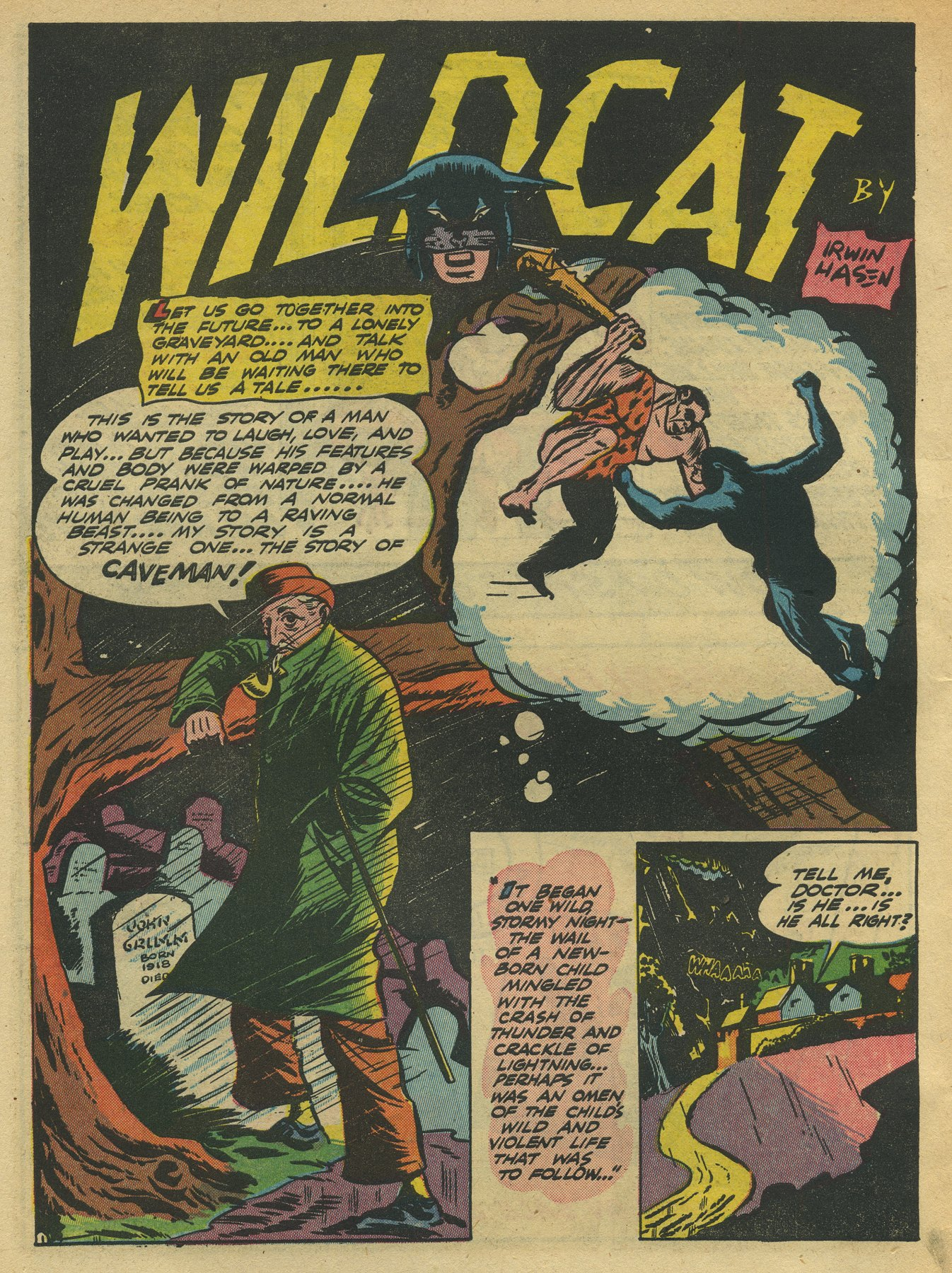 Read online Sensation (Mystery) Comics comic -  Issue #10 - 56