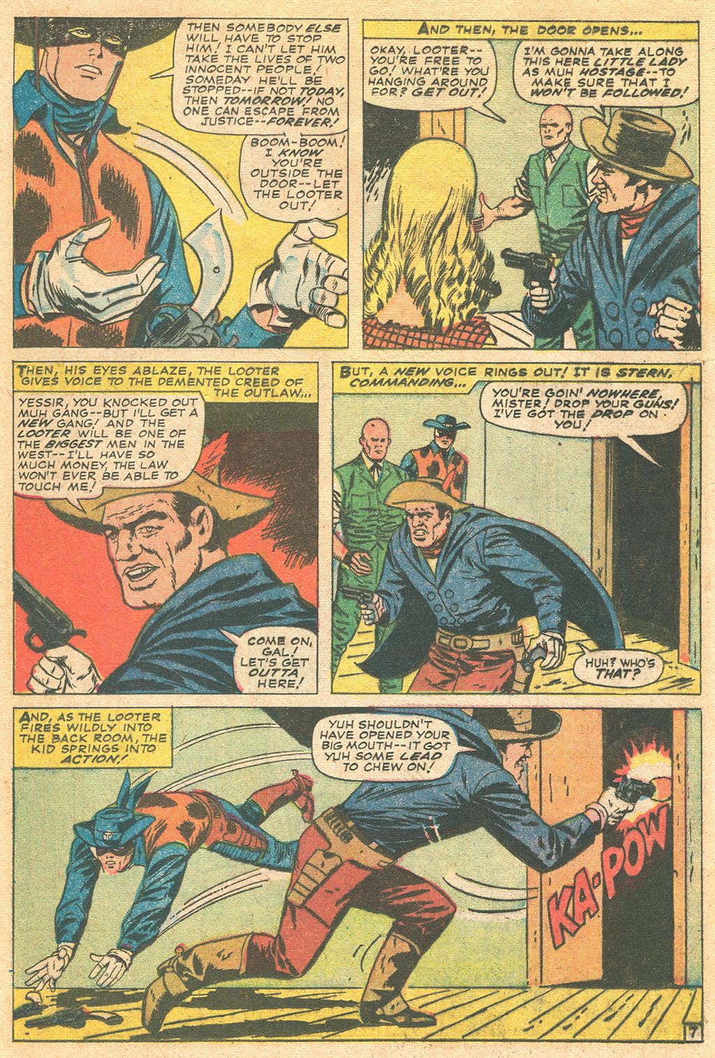 Read online Two-Gun Kid comic -  Issue #86 - 21