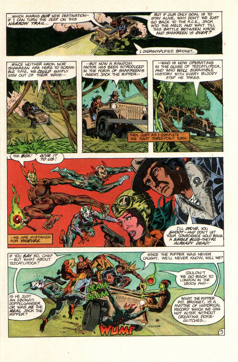 Read online Aztec Ace comic -  Issue #11 - 6