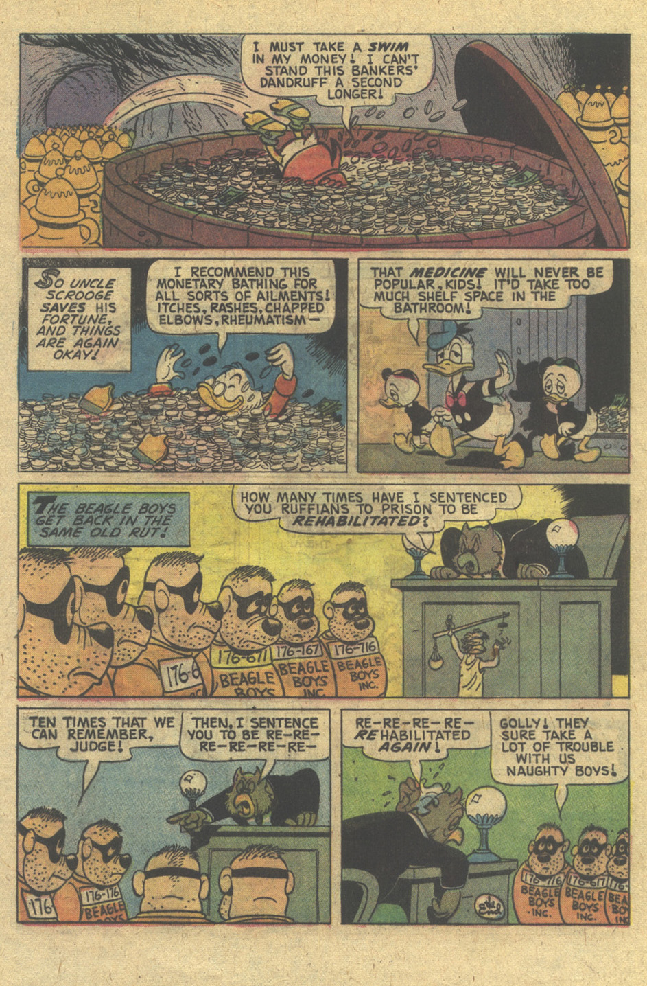 Read online Uncle Scrooge (1953) comic -  Issue #129 - 32