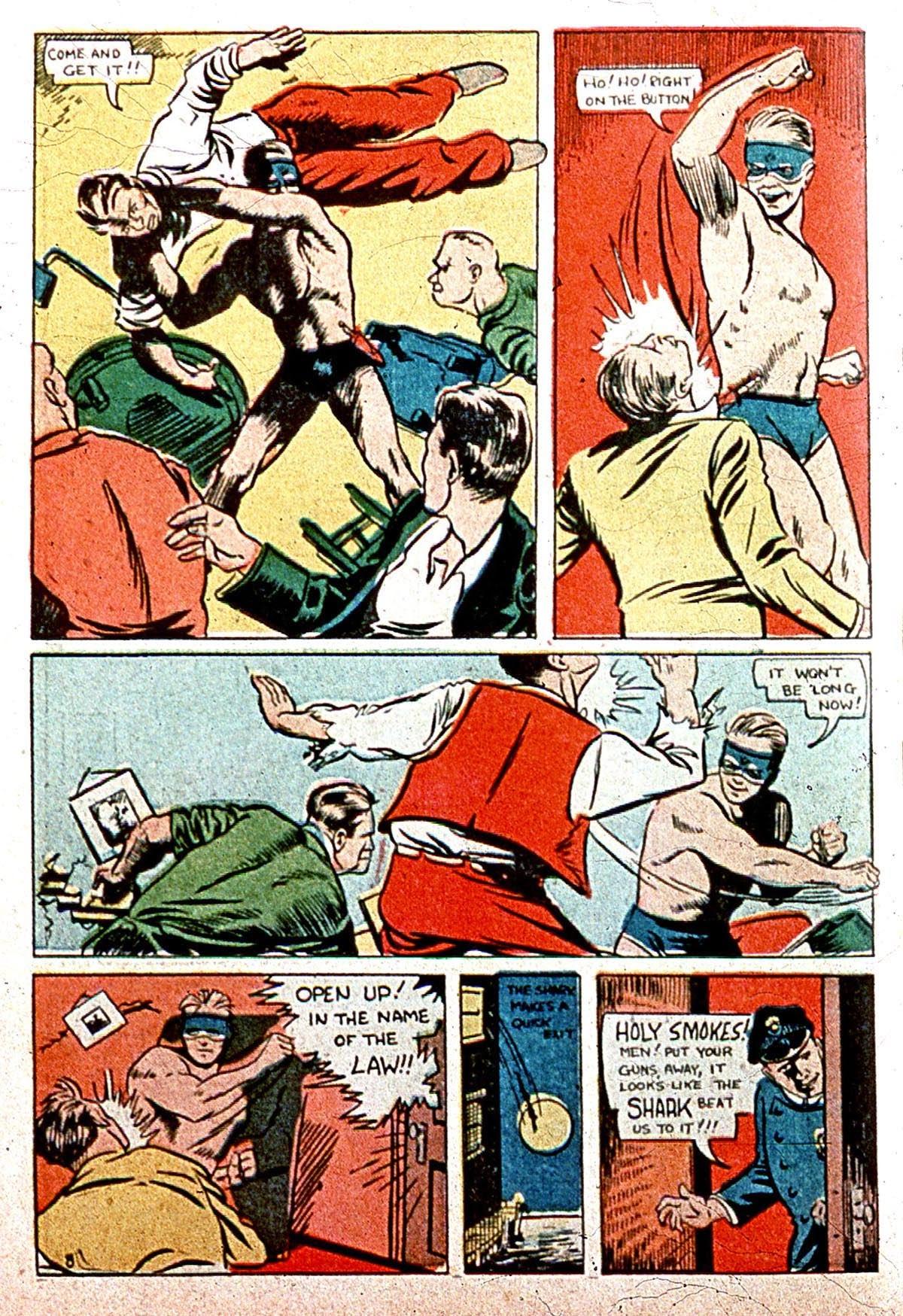 Read online Amazing Man Comics comic -  Issue #8 - 66