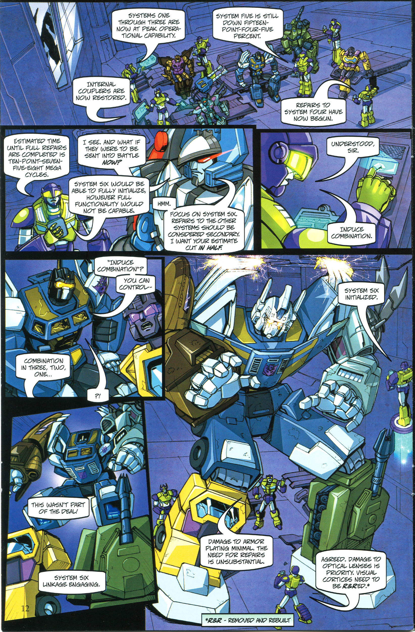 Read online Transformers: Collectors' Club comic -  Issue #38 - 12