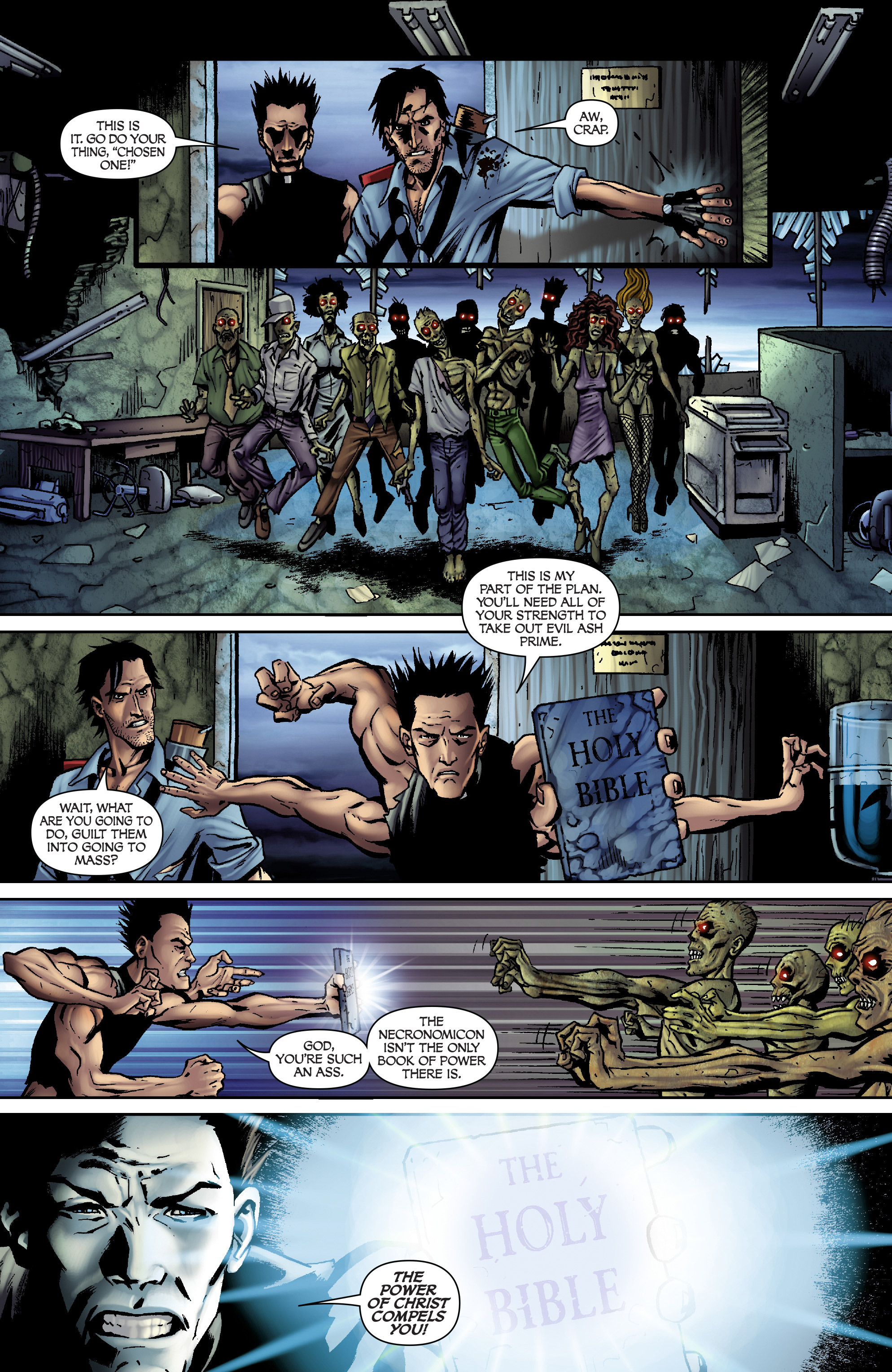 Read online Army of Darkness: From the Ashes comic -  Issue #Army of Darkness: From the Ashes TPB - 92
