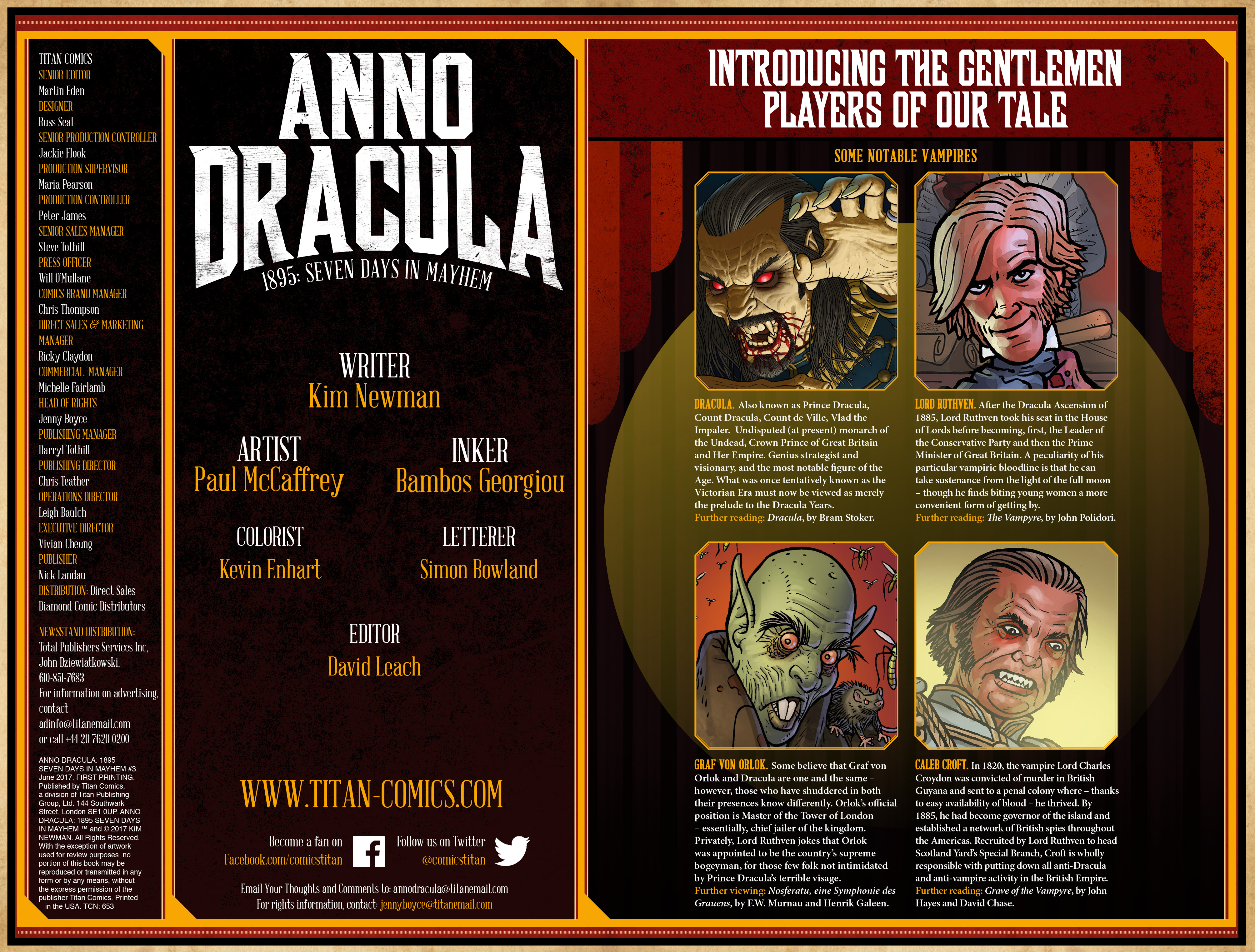 Read online Anno Dracula comic -  Issue #3 - 4