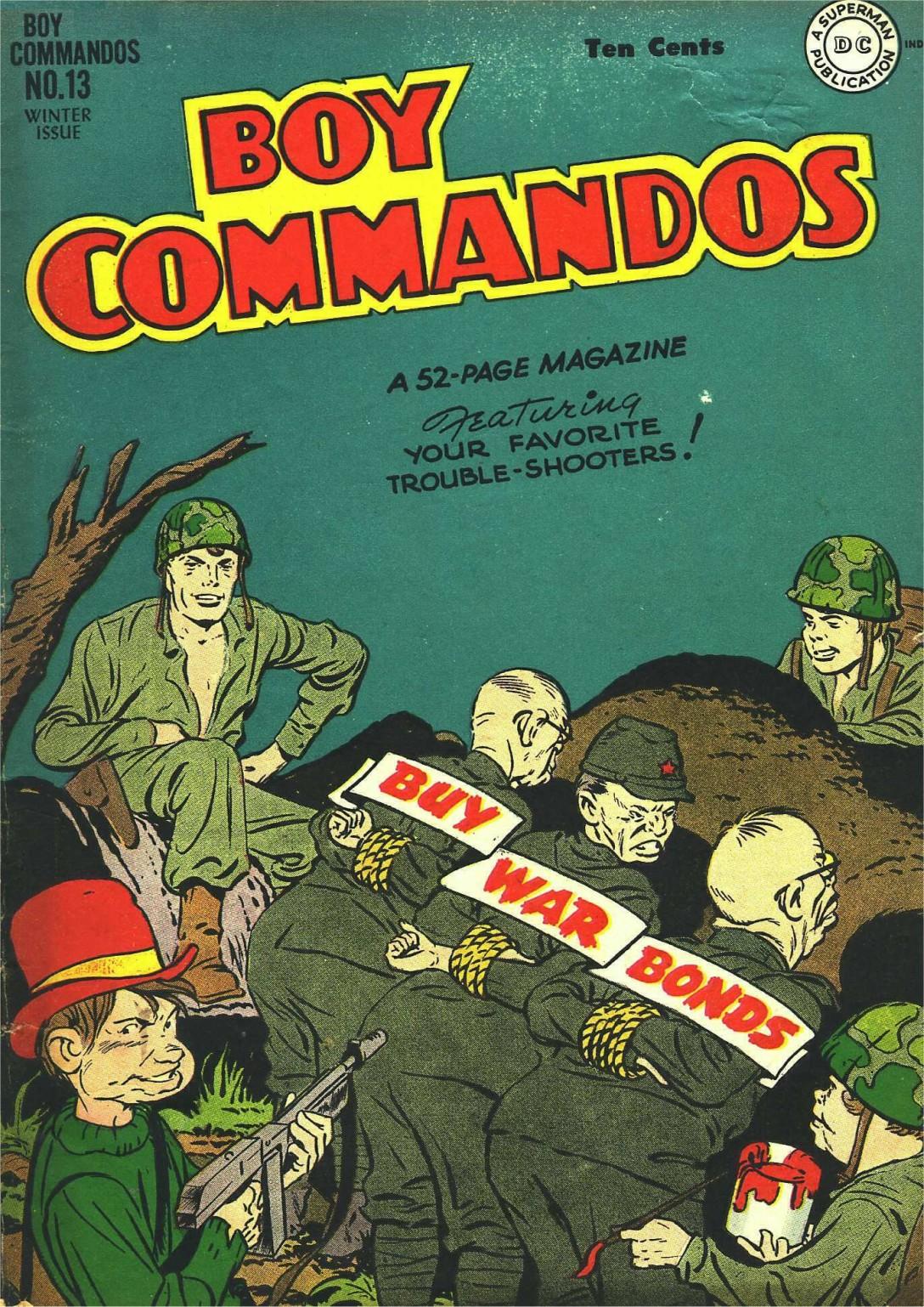 Boy Commandos 13 Page 1