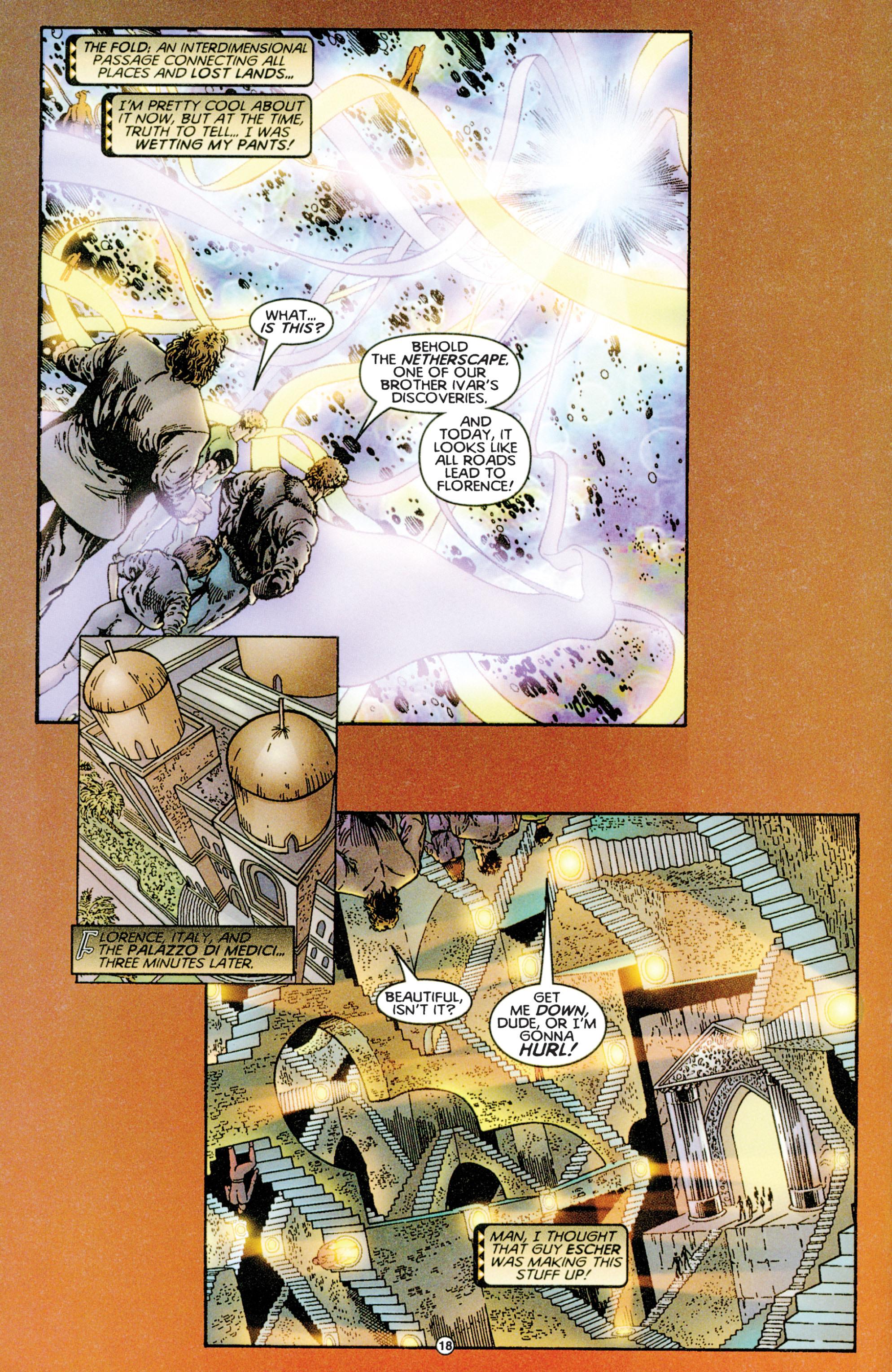 Read online Eternal Warriors comic -  Issue # Issue Time & Treachery - 17