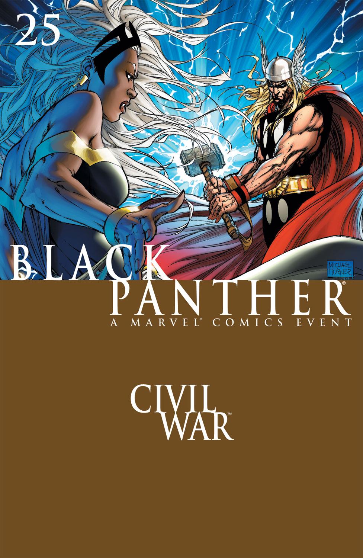 Black Panther (2005) 25 Page 1