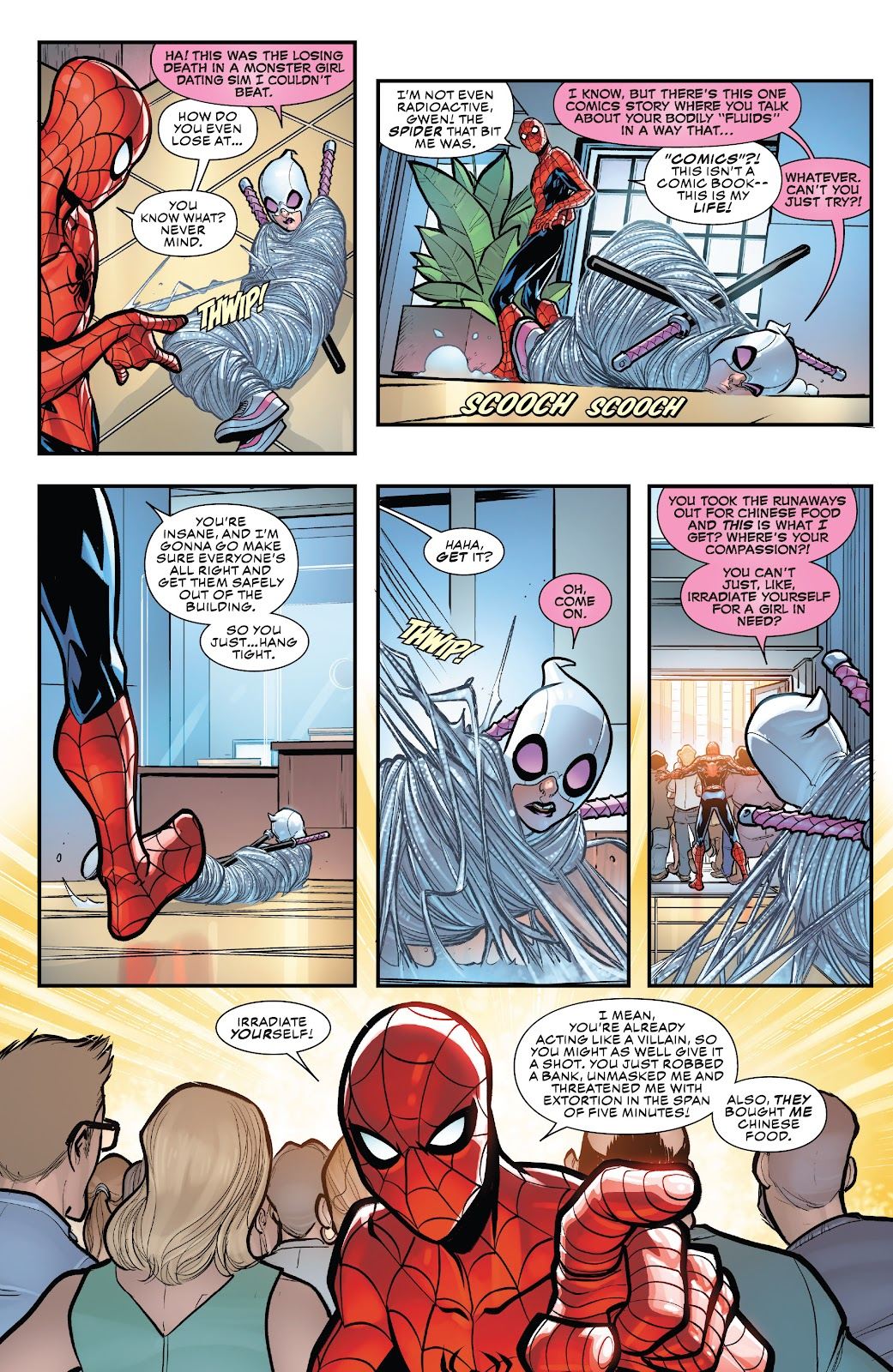 Gwenpool Strikes Back issue 1 - Page 13