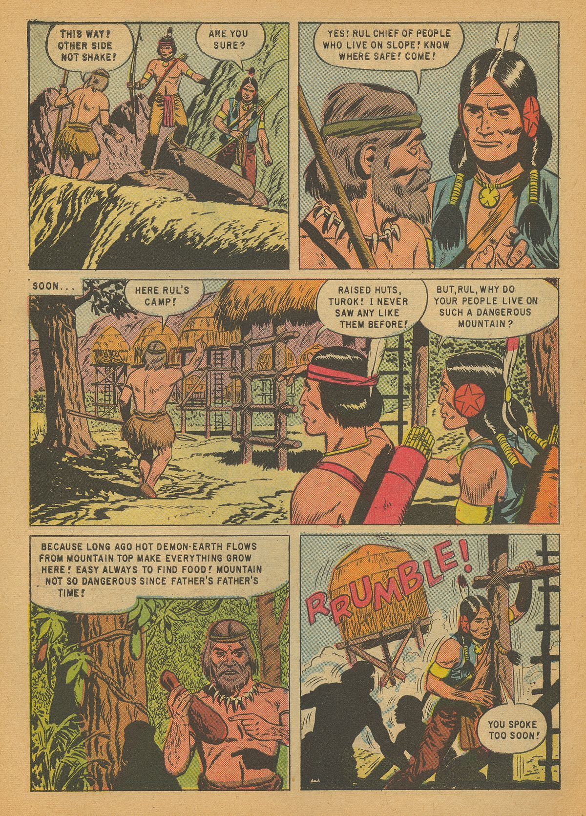 Read online Turok, Son of Stone comic -  Issue #14 - 6