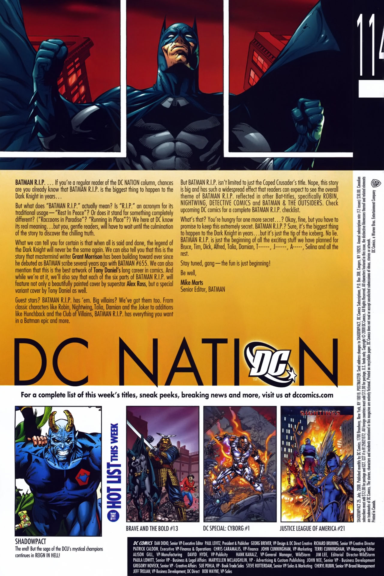 Read online Shadowpact comic -  Issue #25 - 23