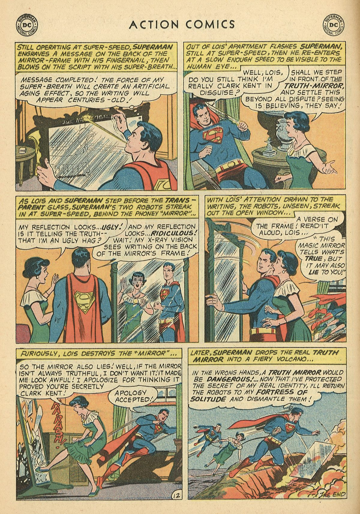 Read online Action Comics (1938) comic -  Issue #269 - 14