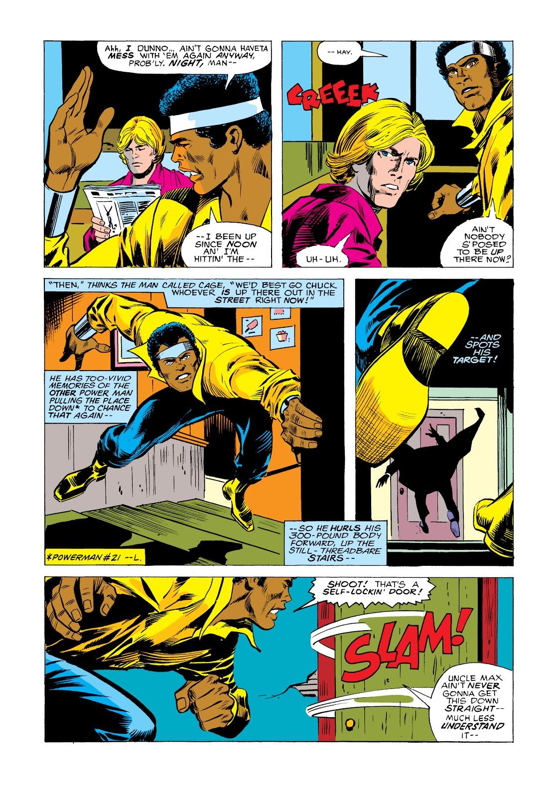 Read online Marvel Masterworks: Luke Cage, Power Man comic -  Issue # TPB 2 (Part 2) - 83