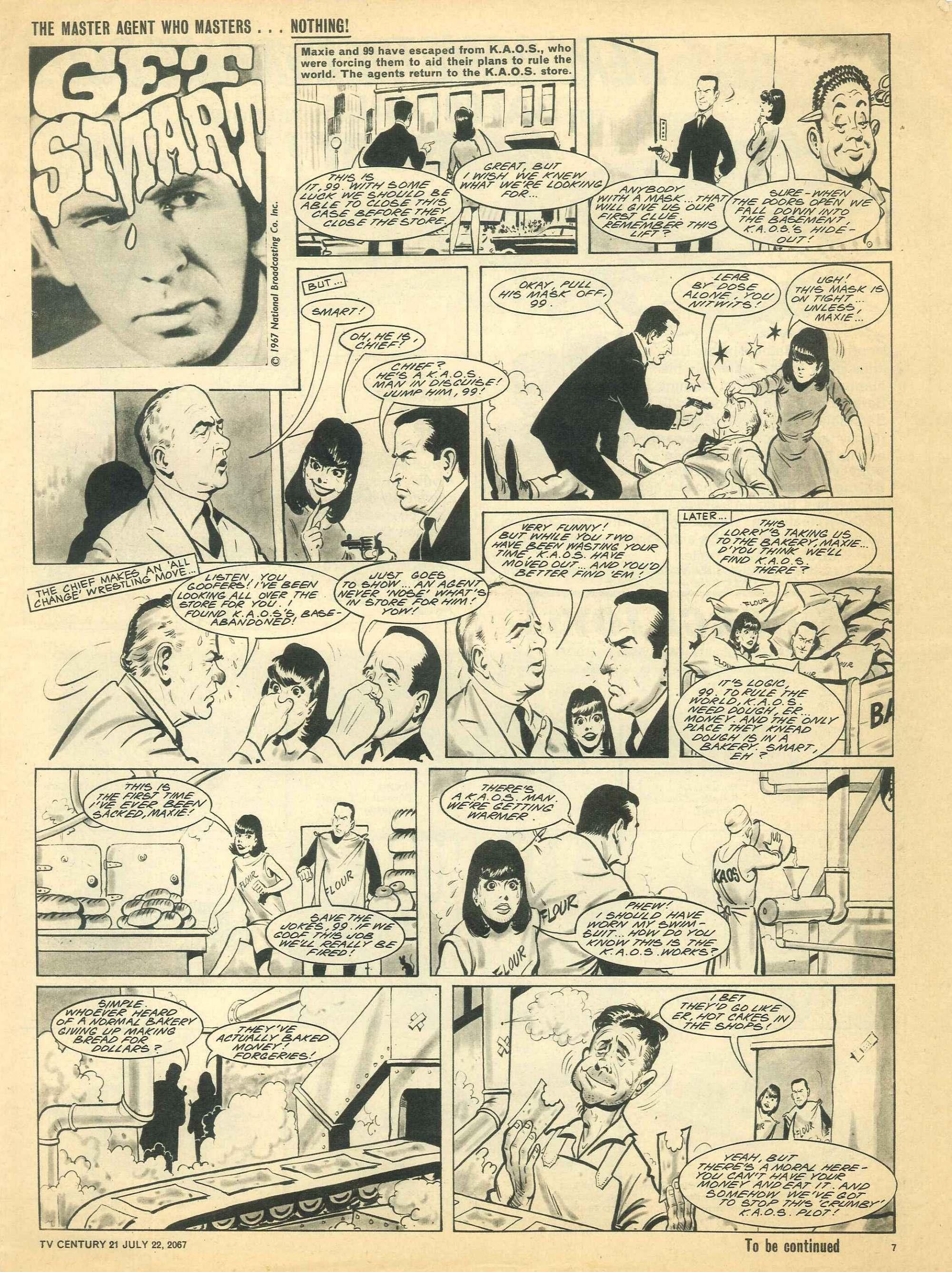 Read online TV Century 21 (TV 21) comic -  Issue #131 - 7