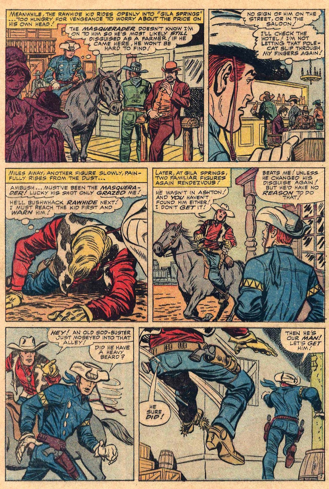 The Rawhide Kid (1955) issue 50 - Page 16