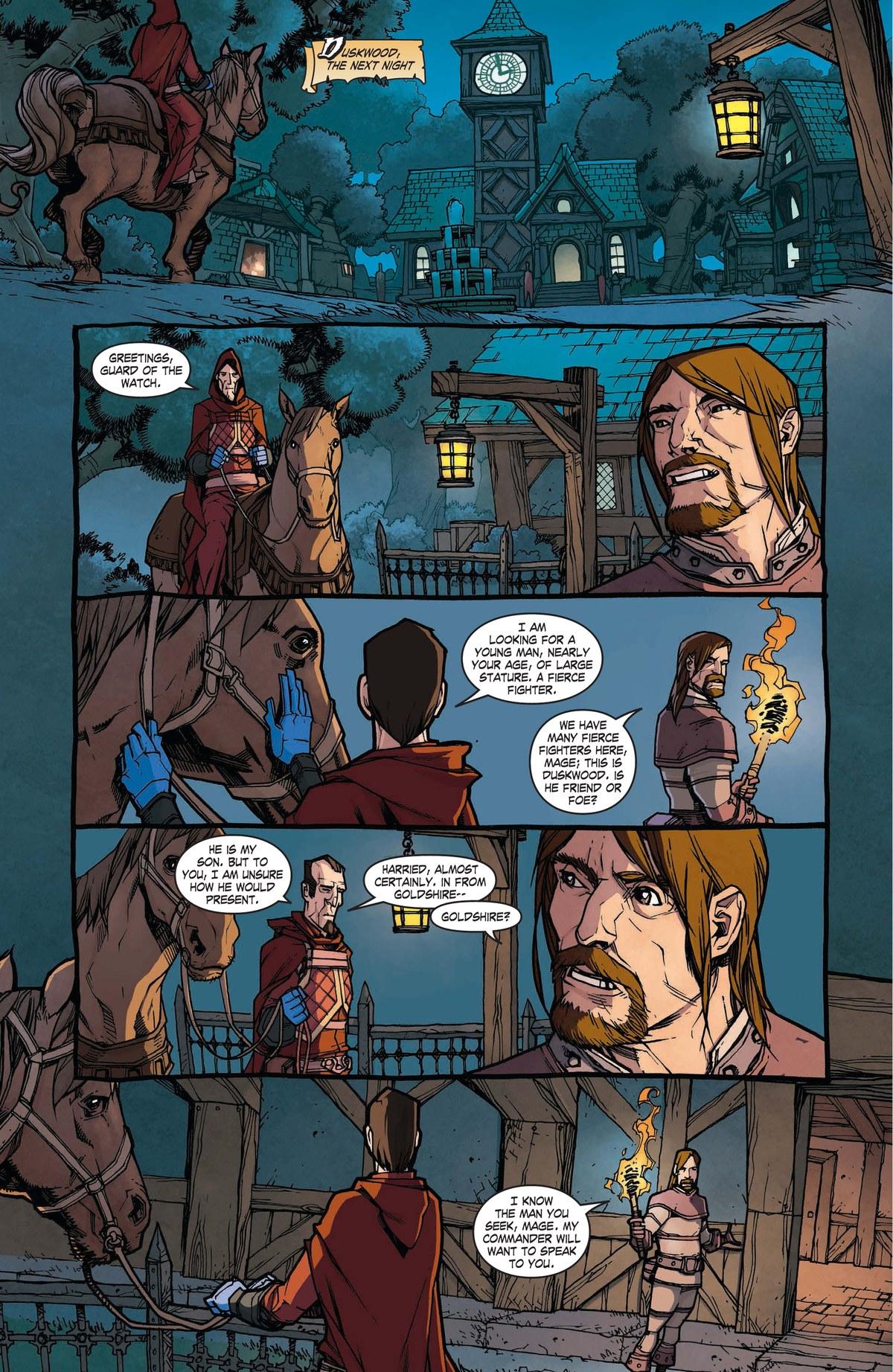Read online World of Warcraft: Dark Riders comic -  Issue # Full - 39