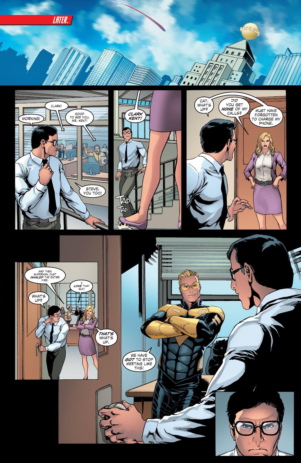 Read online Smallville Season 11 [II] comic -  Issue # TPB 4 - 14