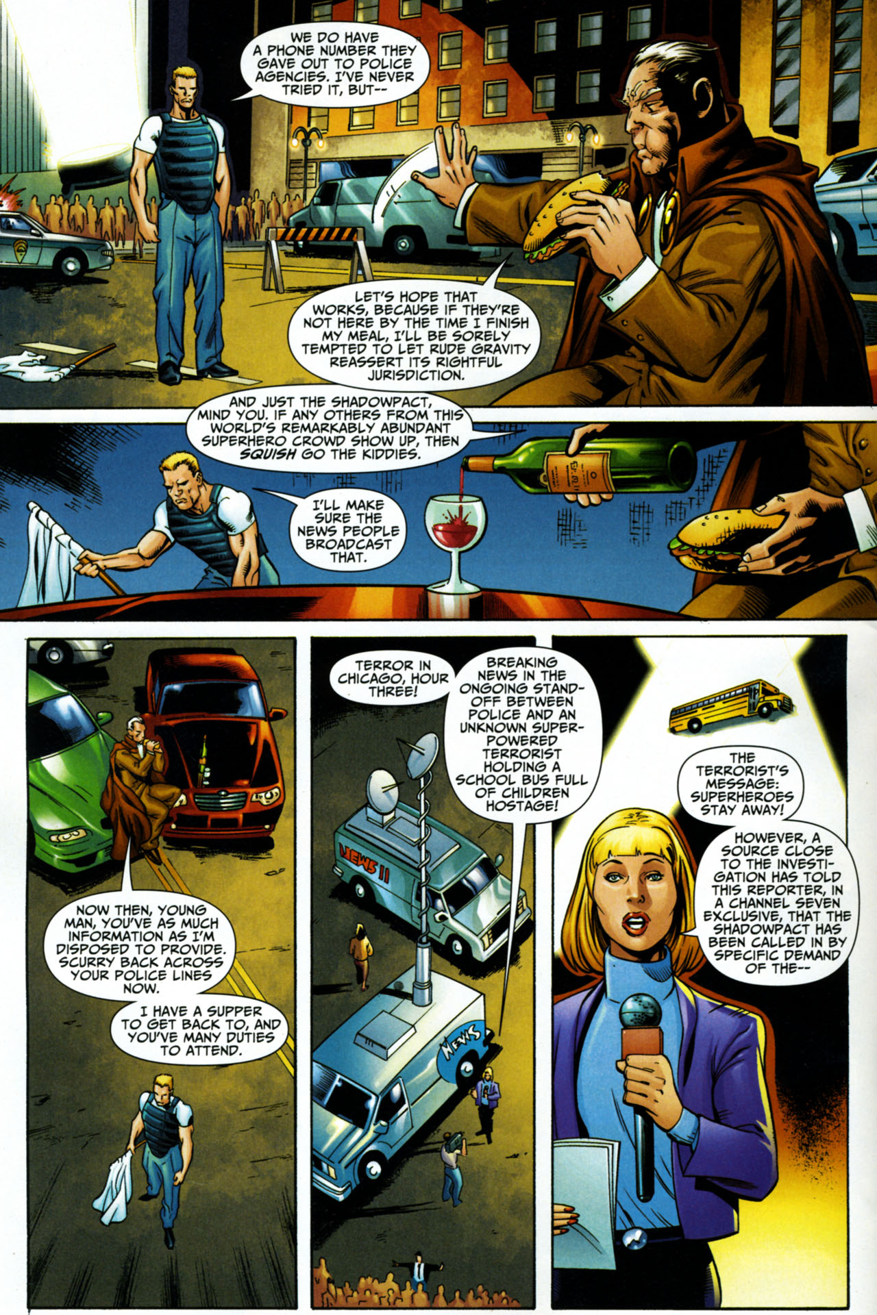 Read online Shadowpact comic -  Issue #15 - 6