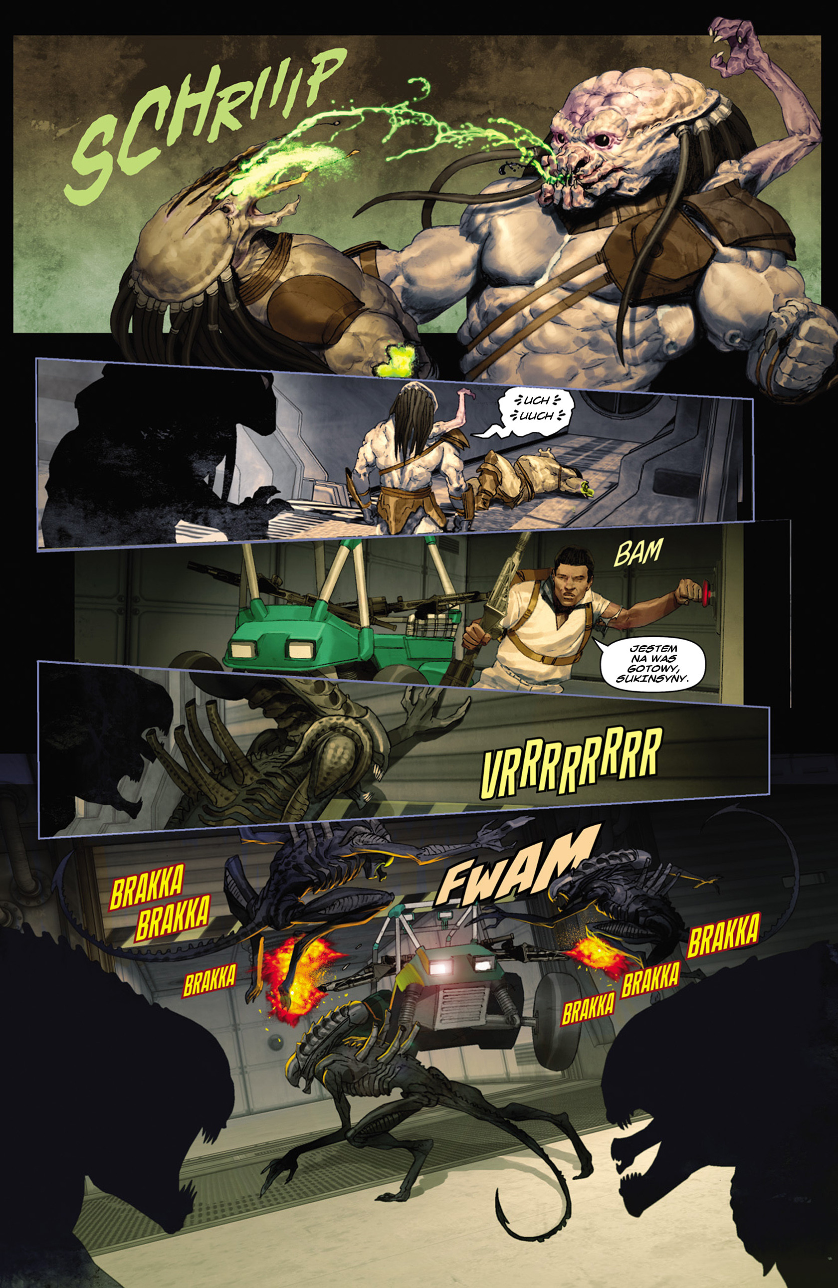 Read online Alien vs. Predator: Fire and Stone comic -  Issue #2 - 21
