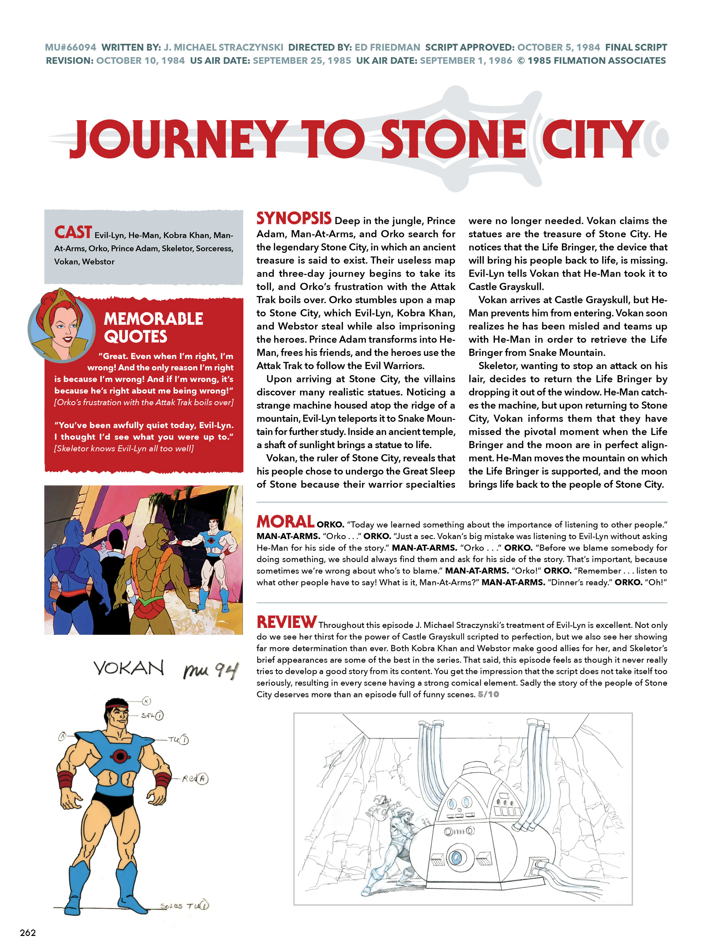 Read online He-Man and She-Ra: A Complete Guide to the Classic Animated Adventures comic -  Issue # TPB (Part 2) - 63
