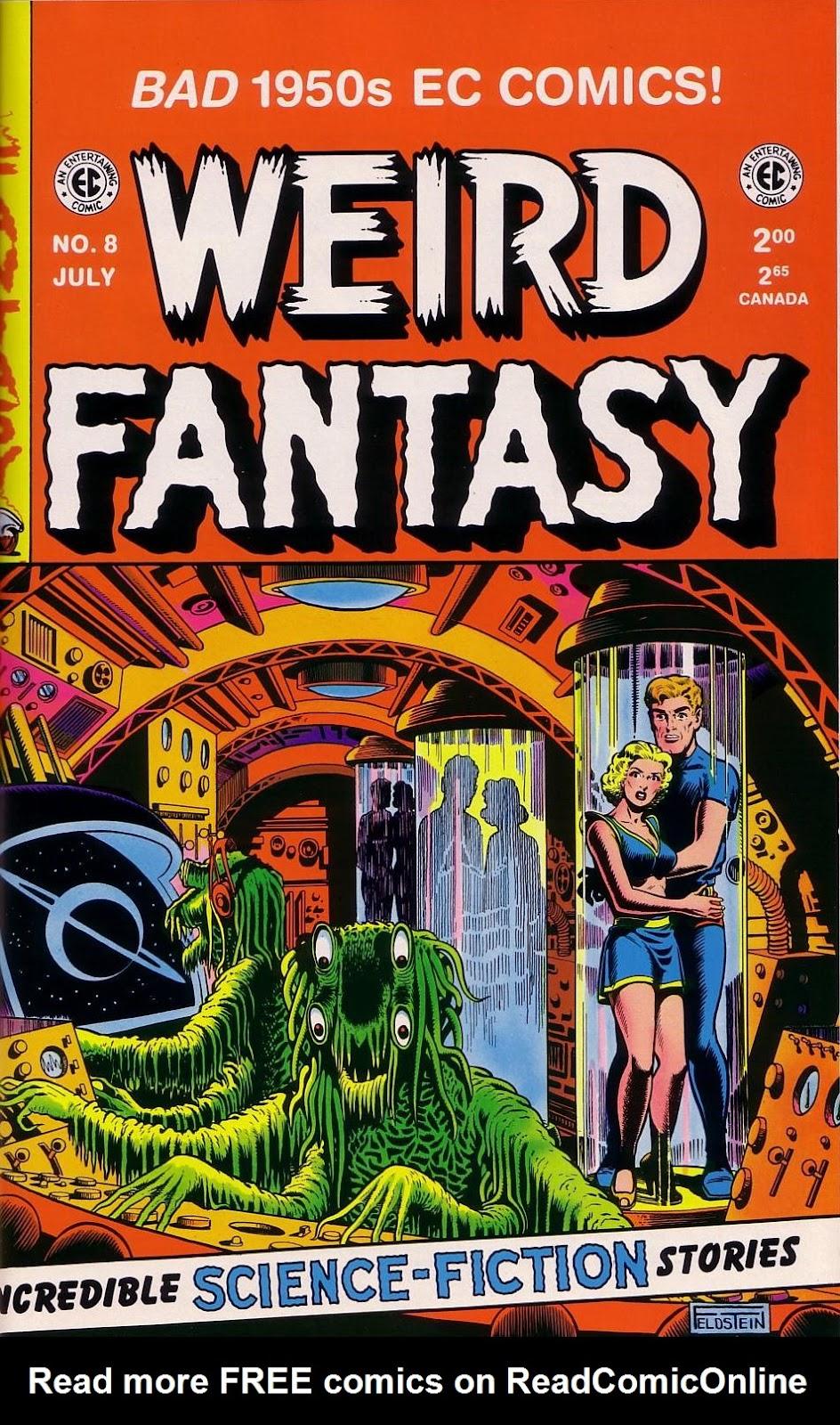 Weird Fantasy (1951) 8 Page 1