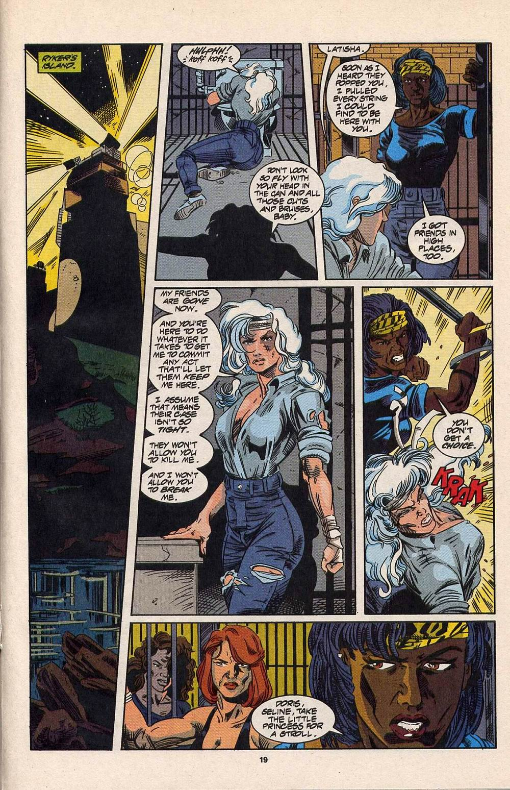 Read online Silver Sable and the Wild Pack comic -  Issue #30 - 15