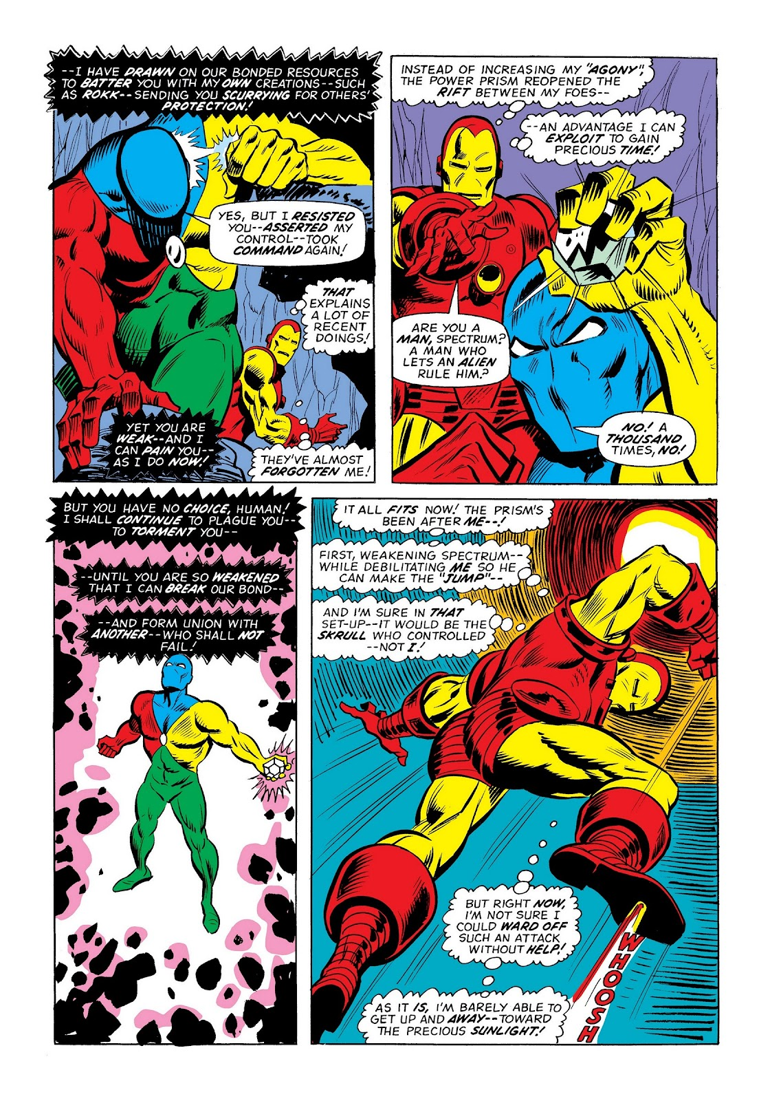 Read online Marvel Masterworks: The Invincible Iron Man comic -  Issue # TPB 9 (Part 3) - 48