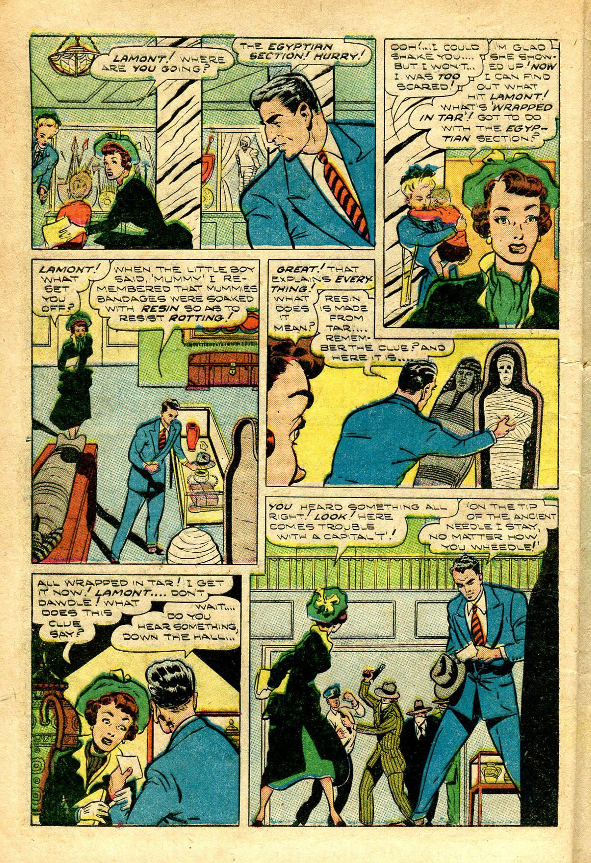 Read online Shadow Comics comic -  Issue #96 - 8