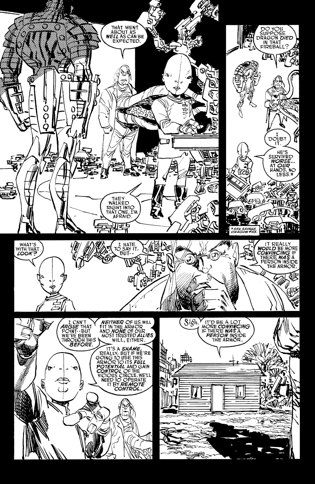 Read online Savage Dragon Archives comic -  Issue # TPB 6 (Part 5) - 87