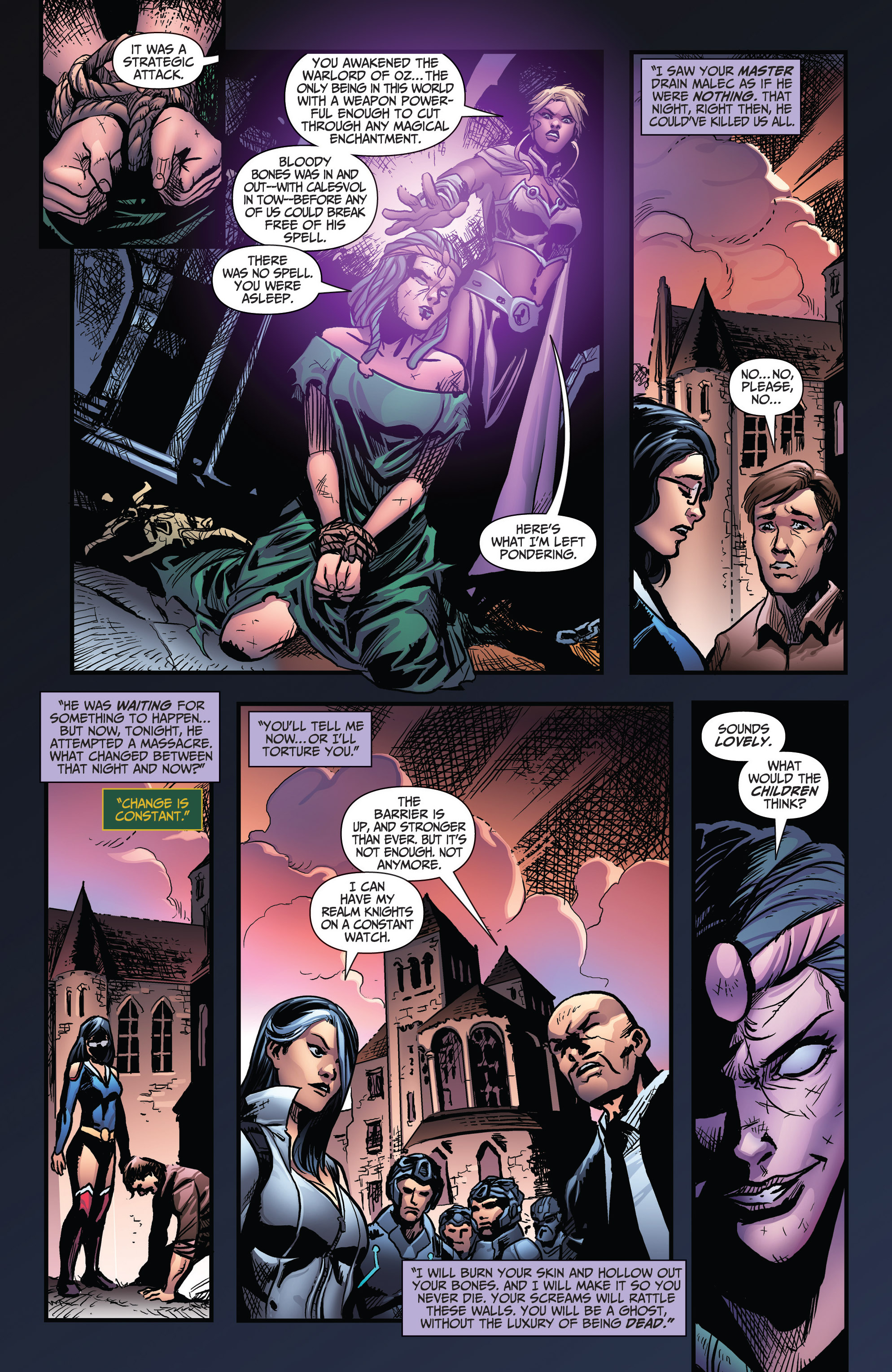 Read online Grimm Fairy Tales: Arcane Acre comic -  Issue # TPB 3 - 117