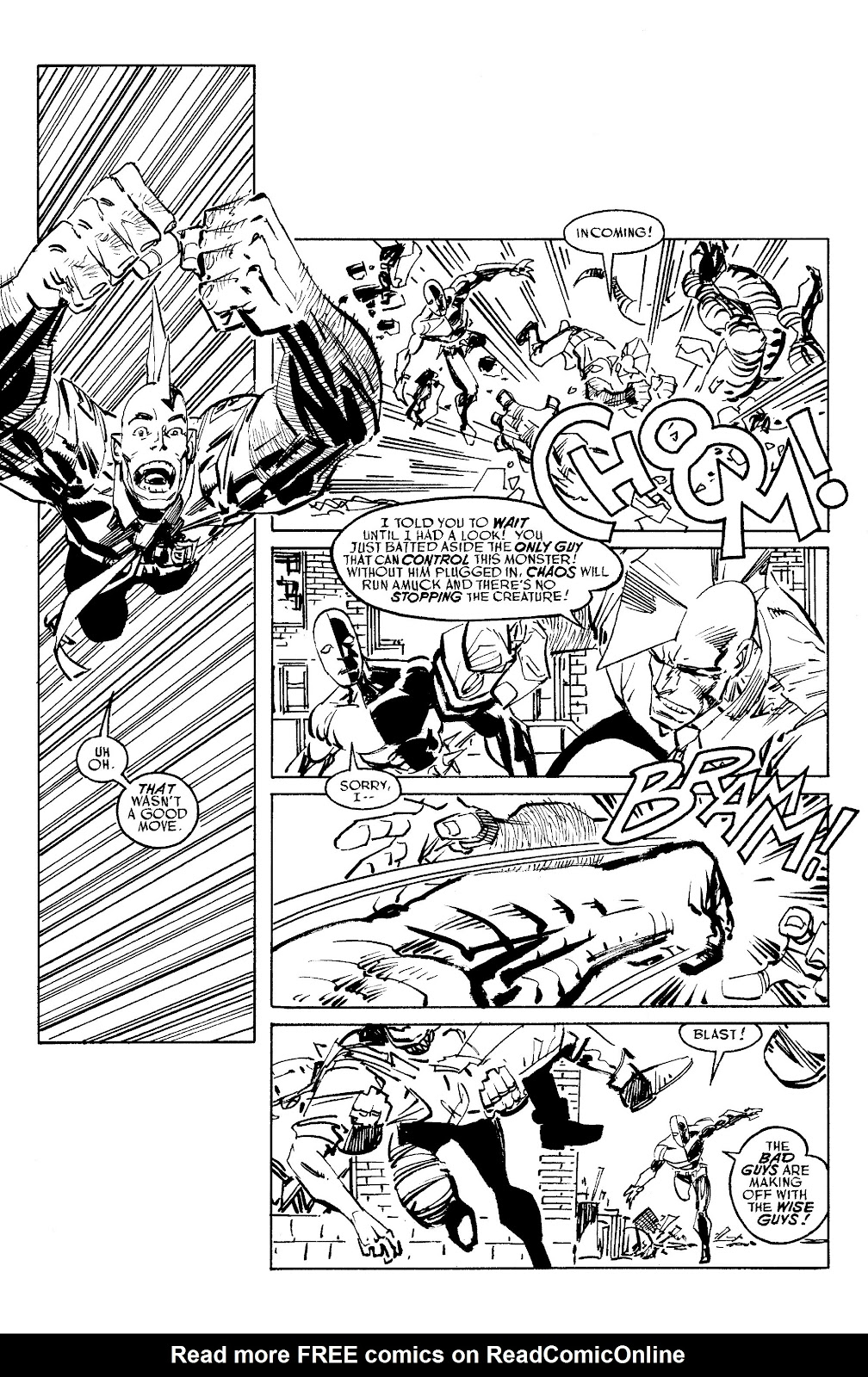 Read online Savage Dragon Archives comic -  Issue # TPB 6 (Part 5) - 46