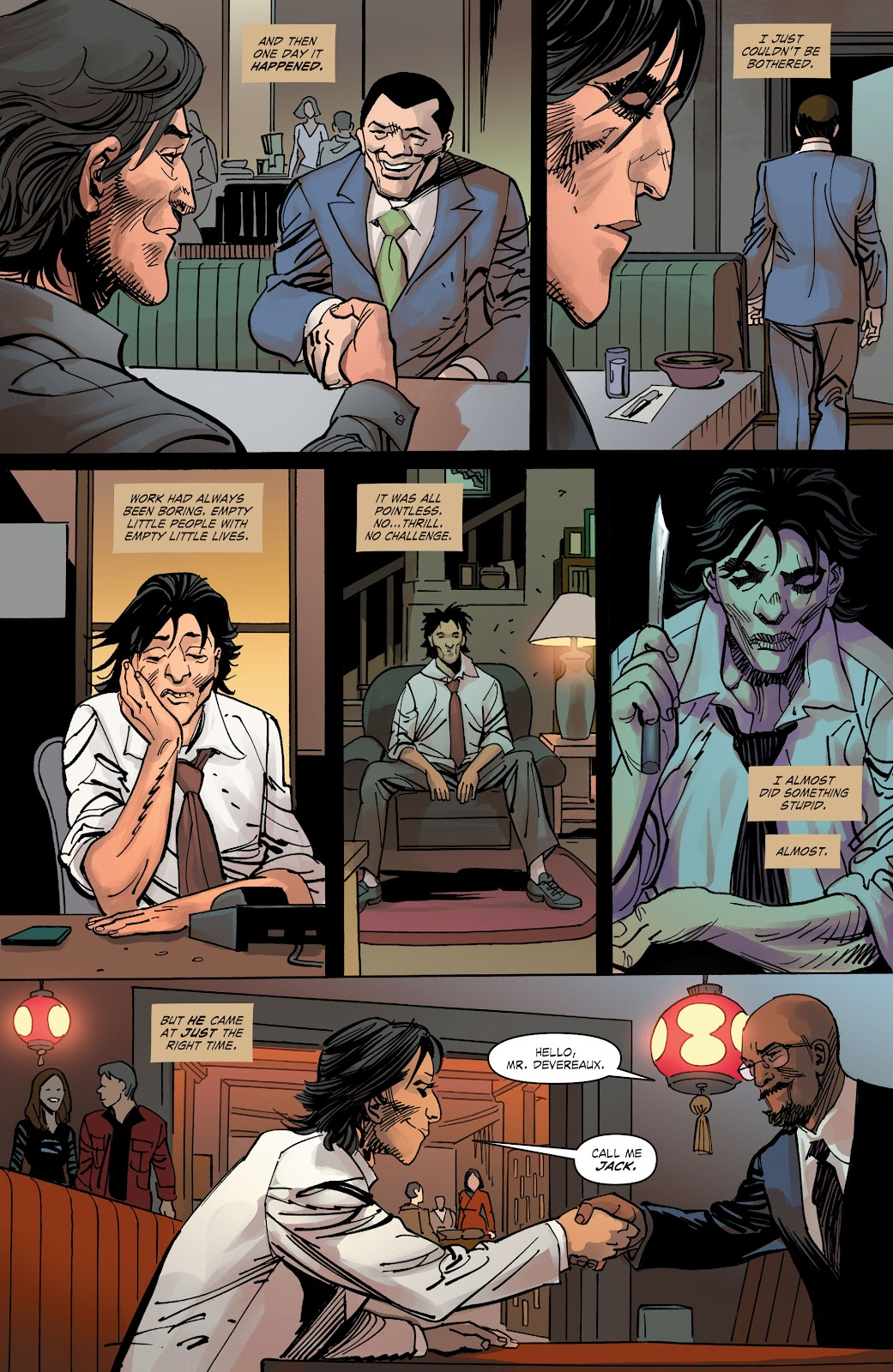 Read online The Curse of Brimstone: Ashes comic -  Issue # TPB (Part 2) - 3