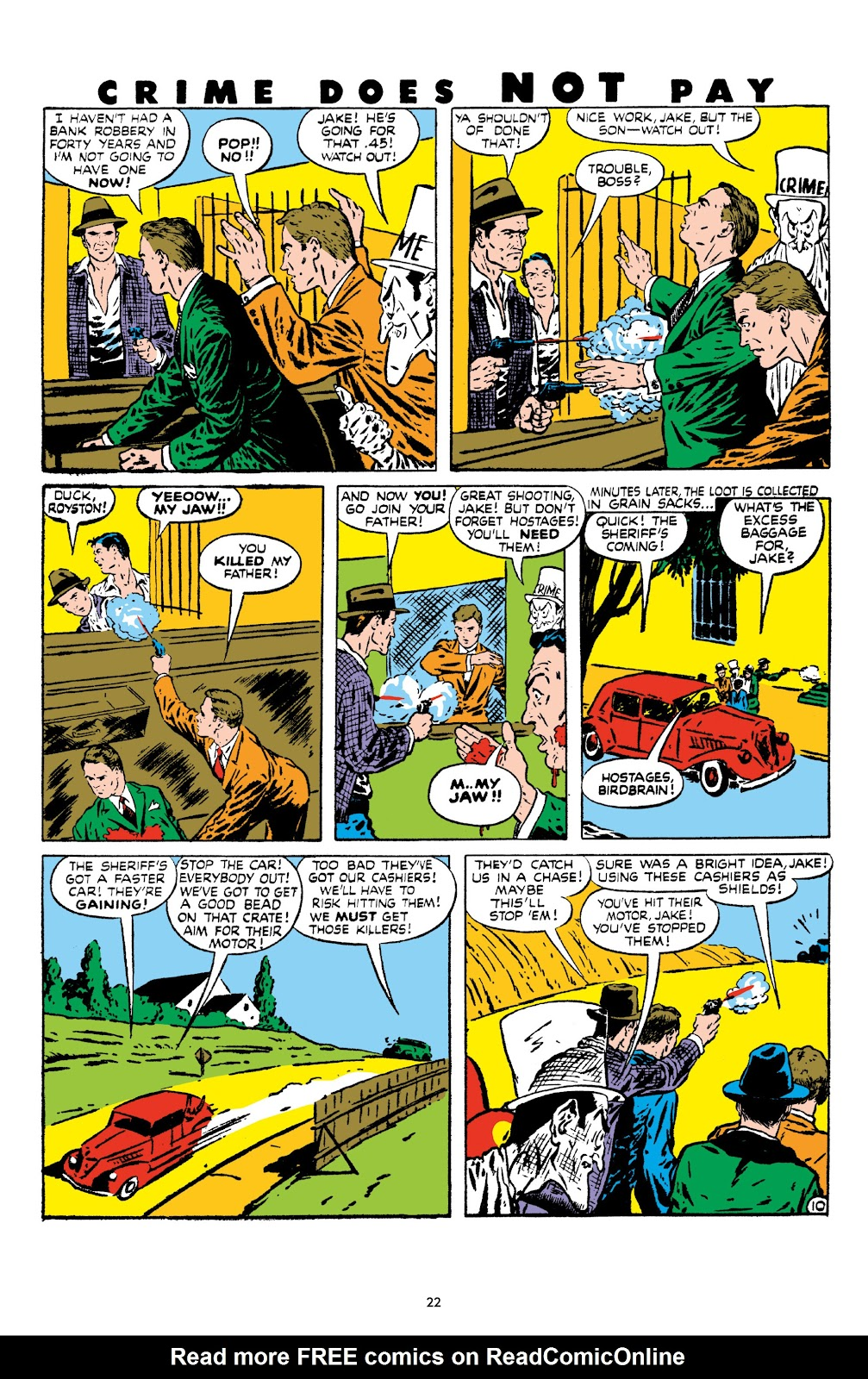 Read online Crime Does Not Pay Archives comic -  Issue # TPB 8 (Part 1) - 24