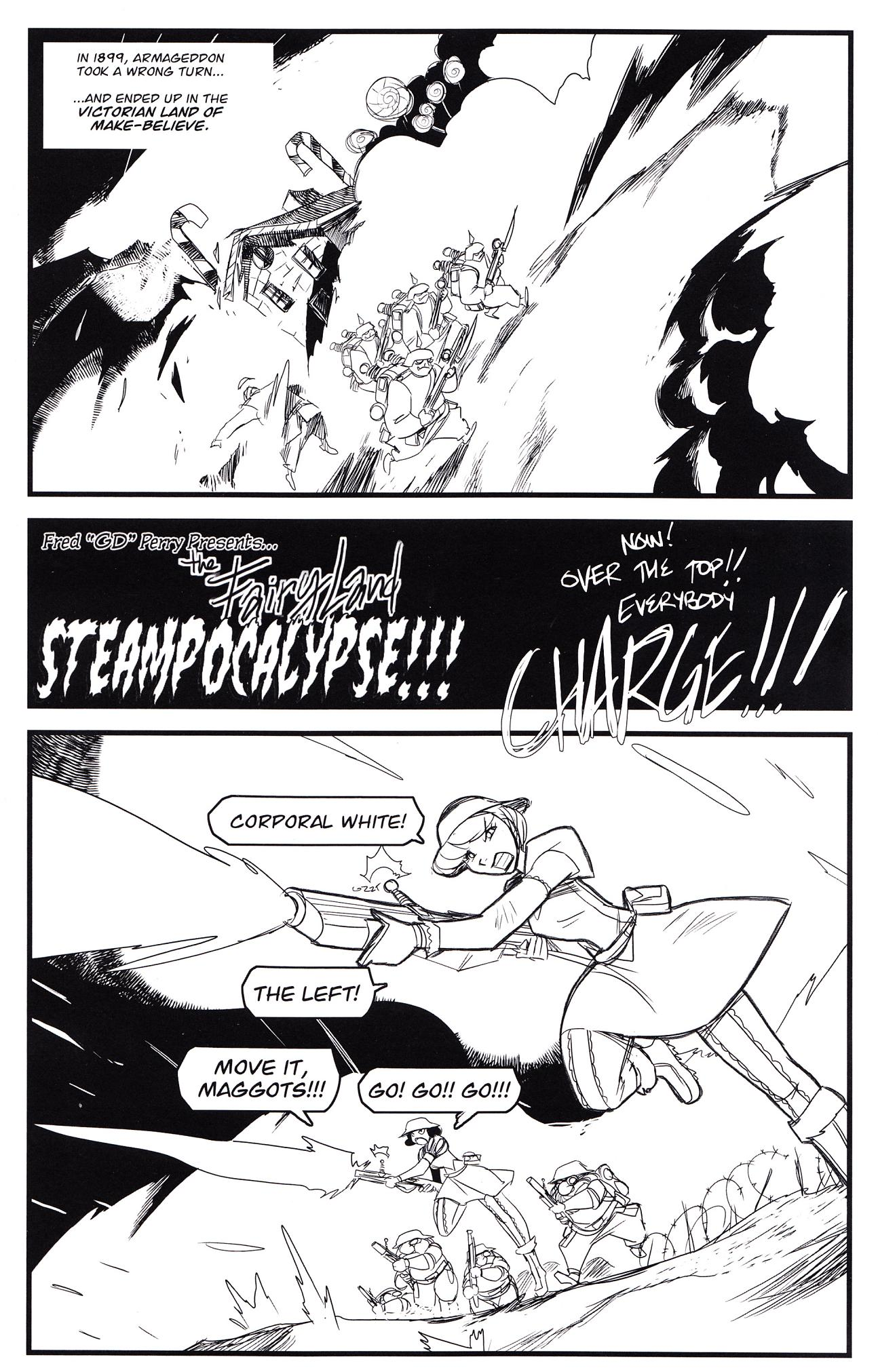 Read online Steampunk Fairy Tales comic -  Issue # Full - 5