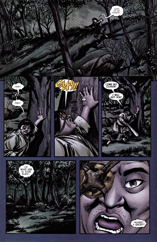 Read online Silken Ghost comic -  Issue #2 - 16