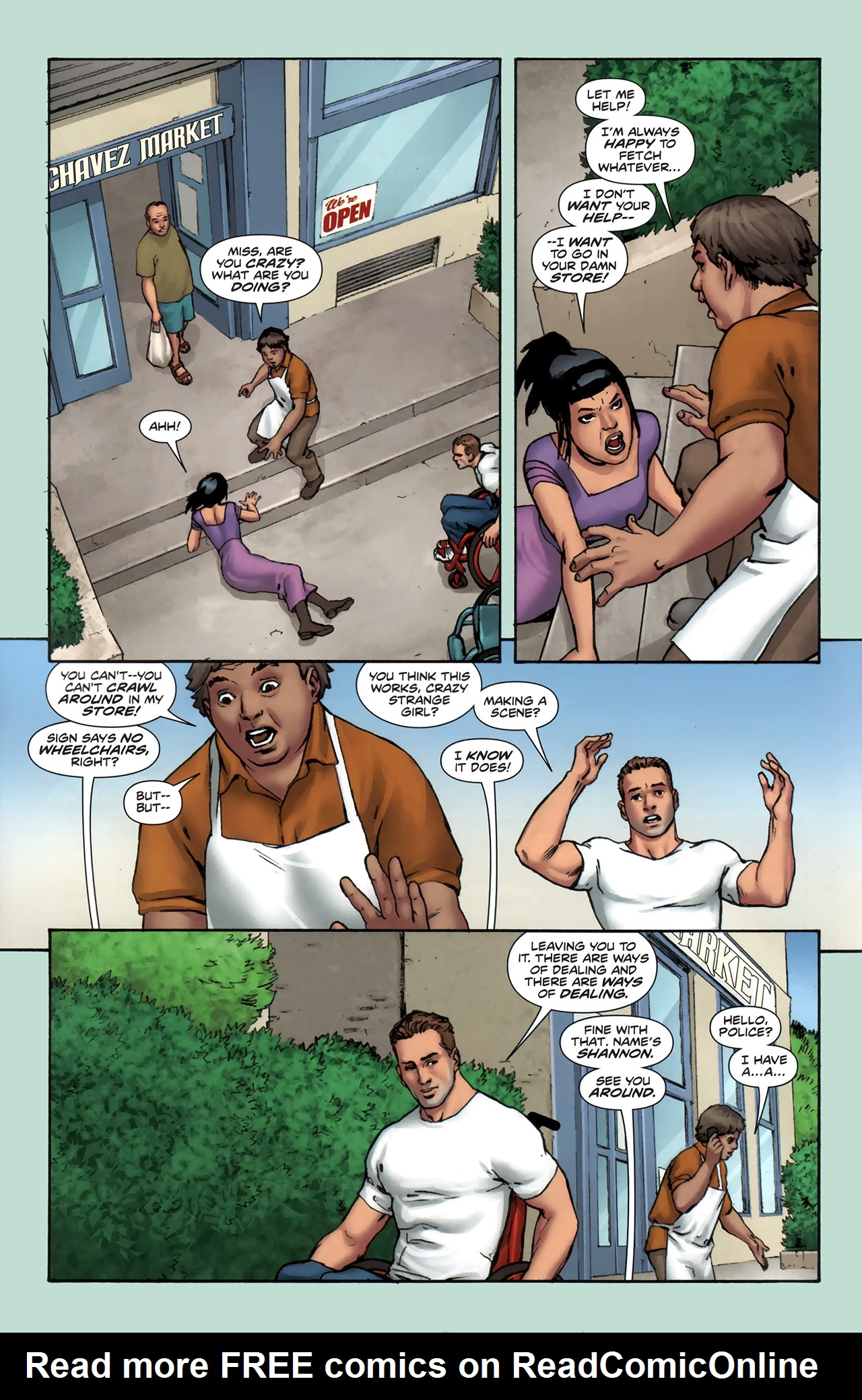 Read online Soldier Zero comic -  Issue #1 - 7